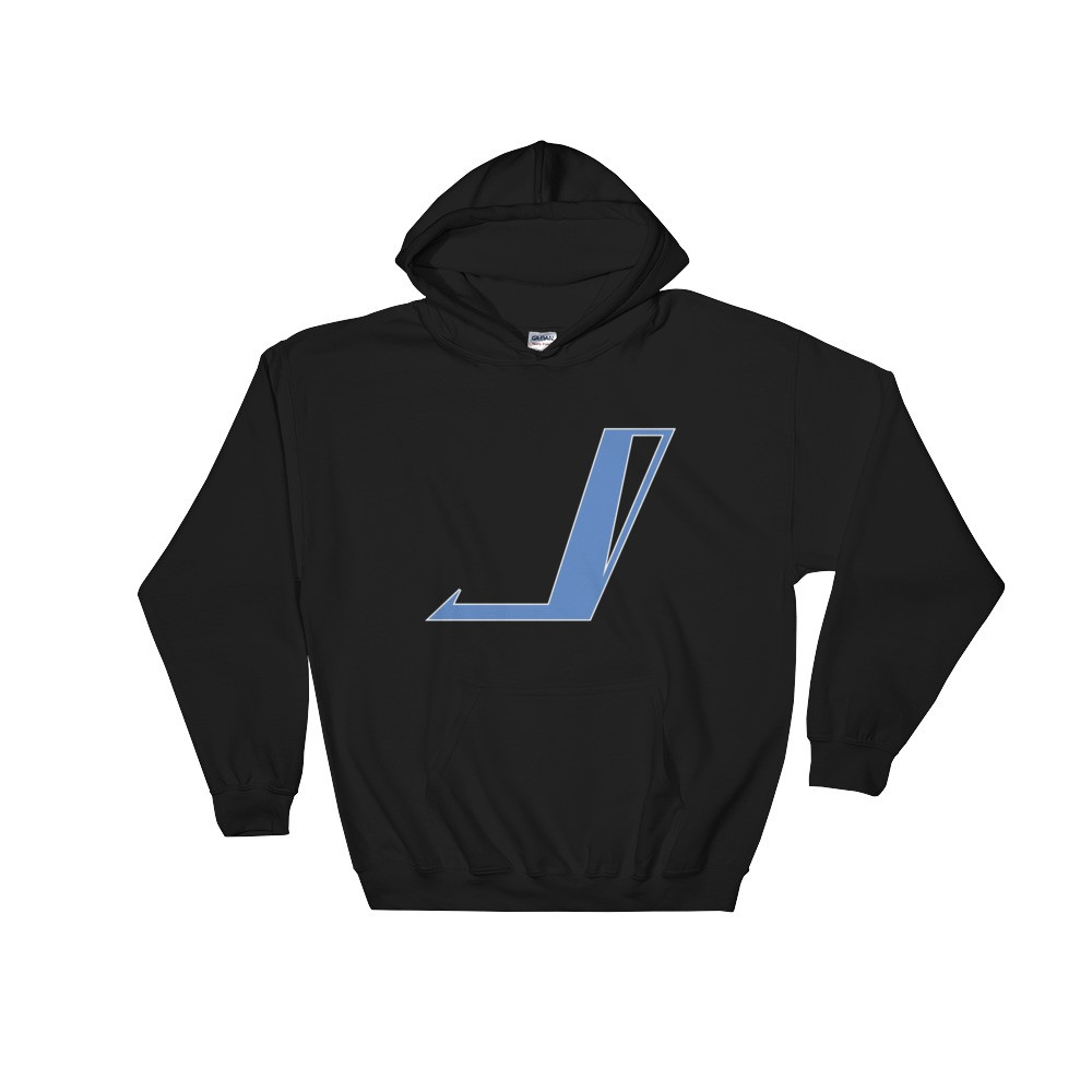 "Jake Jetpulse ""Hero"" Symbol Hoodie   Let your brave little hero unleash their incredible style with this Jetpulse Comics ""Hero""  graphic hoodie.  Price $36.00"