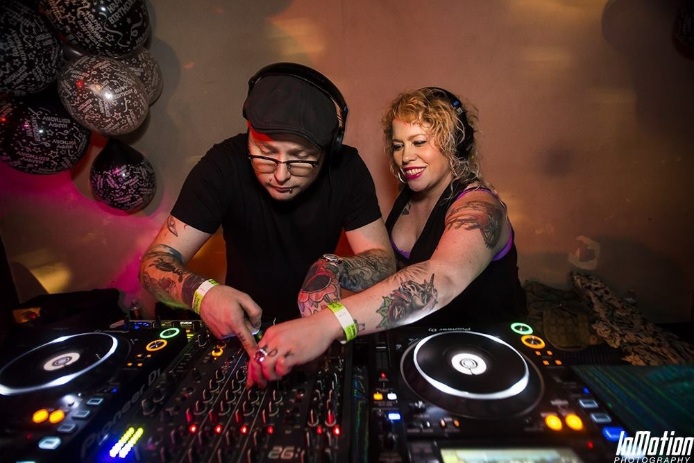 Katie and Danny Elder, owners of Baltimore's artsy-edgy Soul Love Salon in Roland Park are a creative force to be reckoned with in Charm City - part hair wizards, part pillars in the city's underground house music scene.