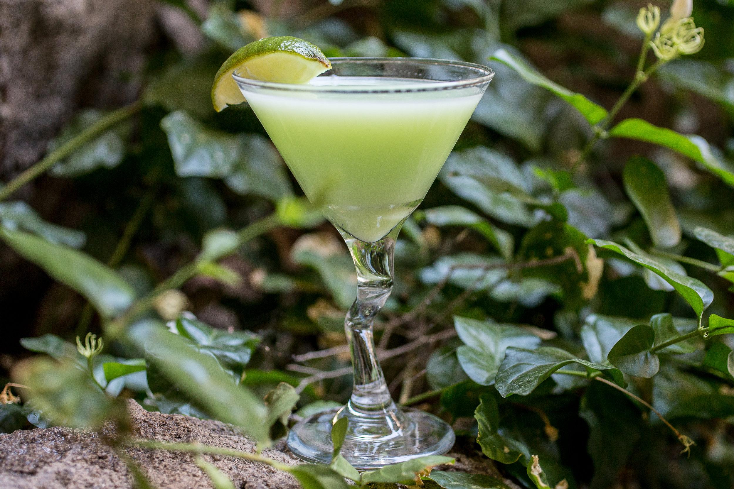 Cliffhouse Lime Martini