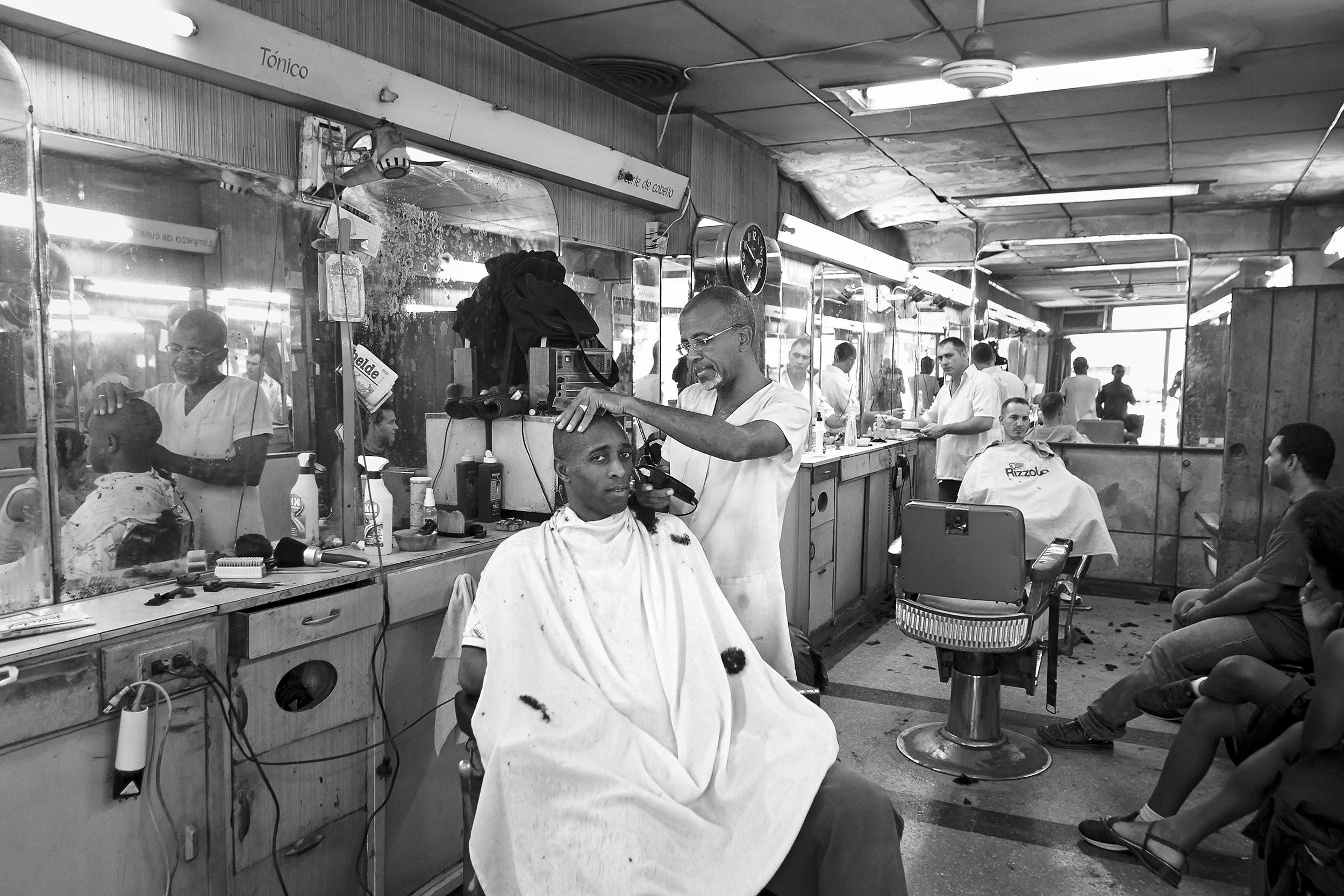 Haircutter - Havana, Cuba