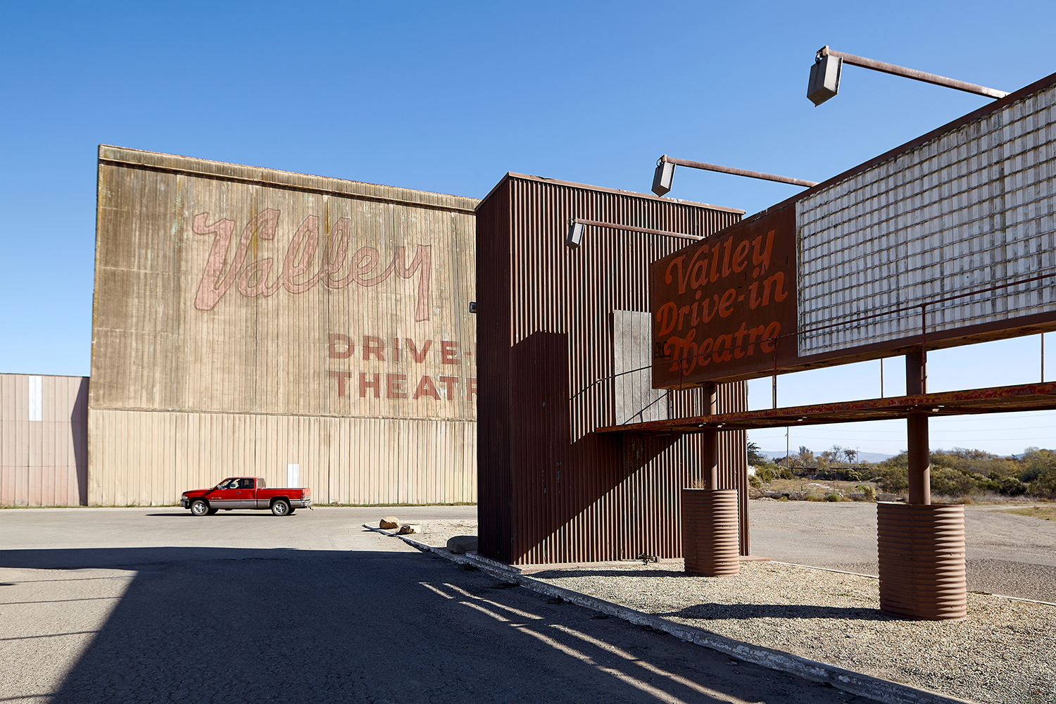 Drive-in Theatre near Vandenberg Air Force Base