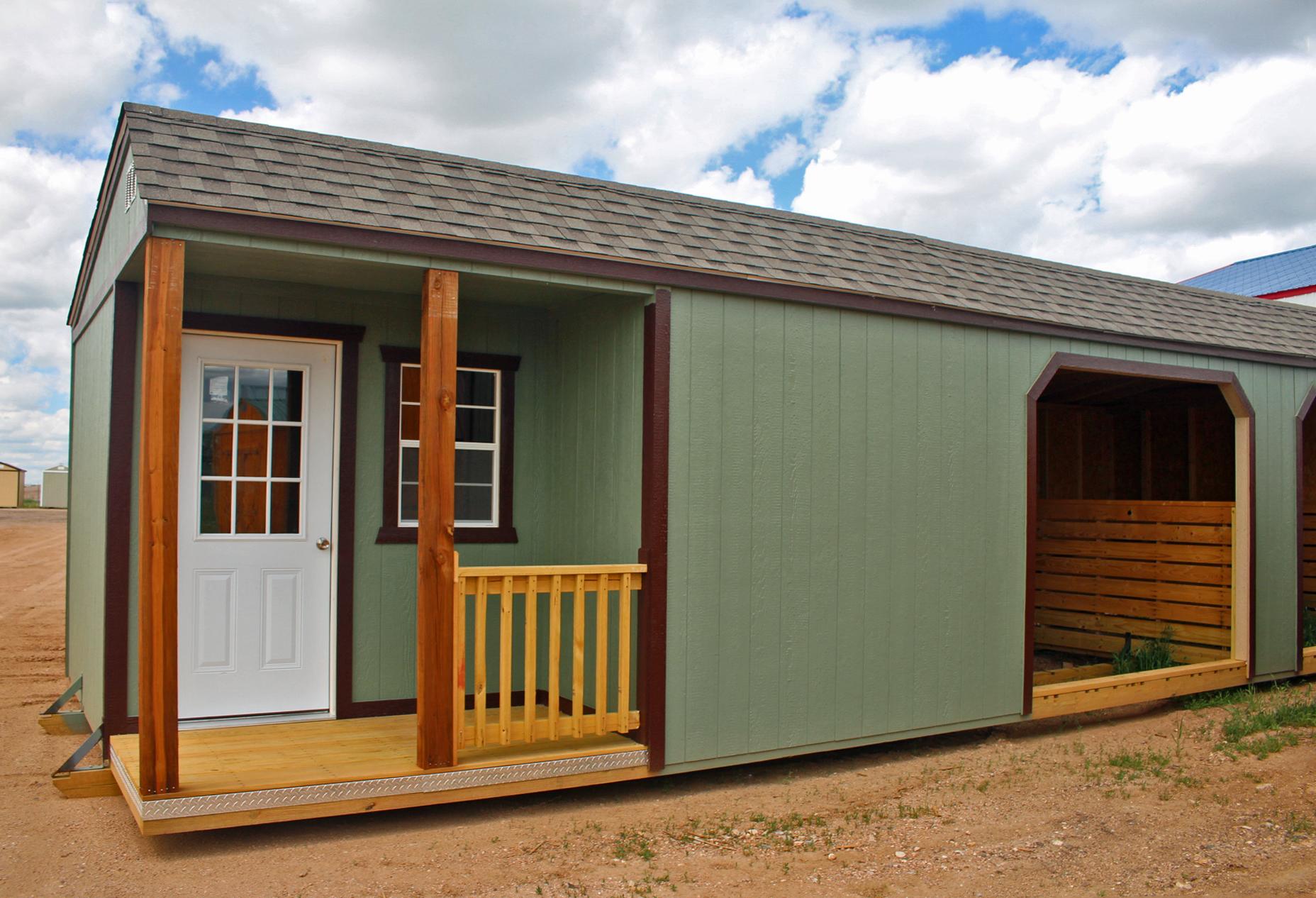 Painted Horse Barn - Vegas Sheds