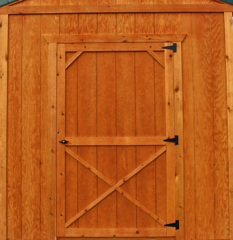 "46"" Wide Single Wood Door"