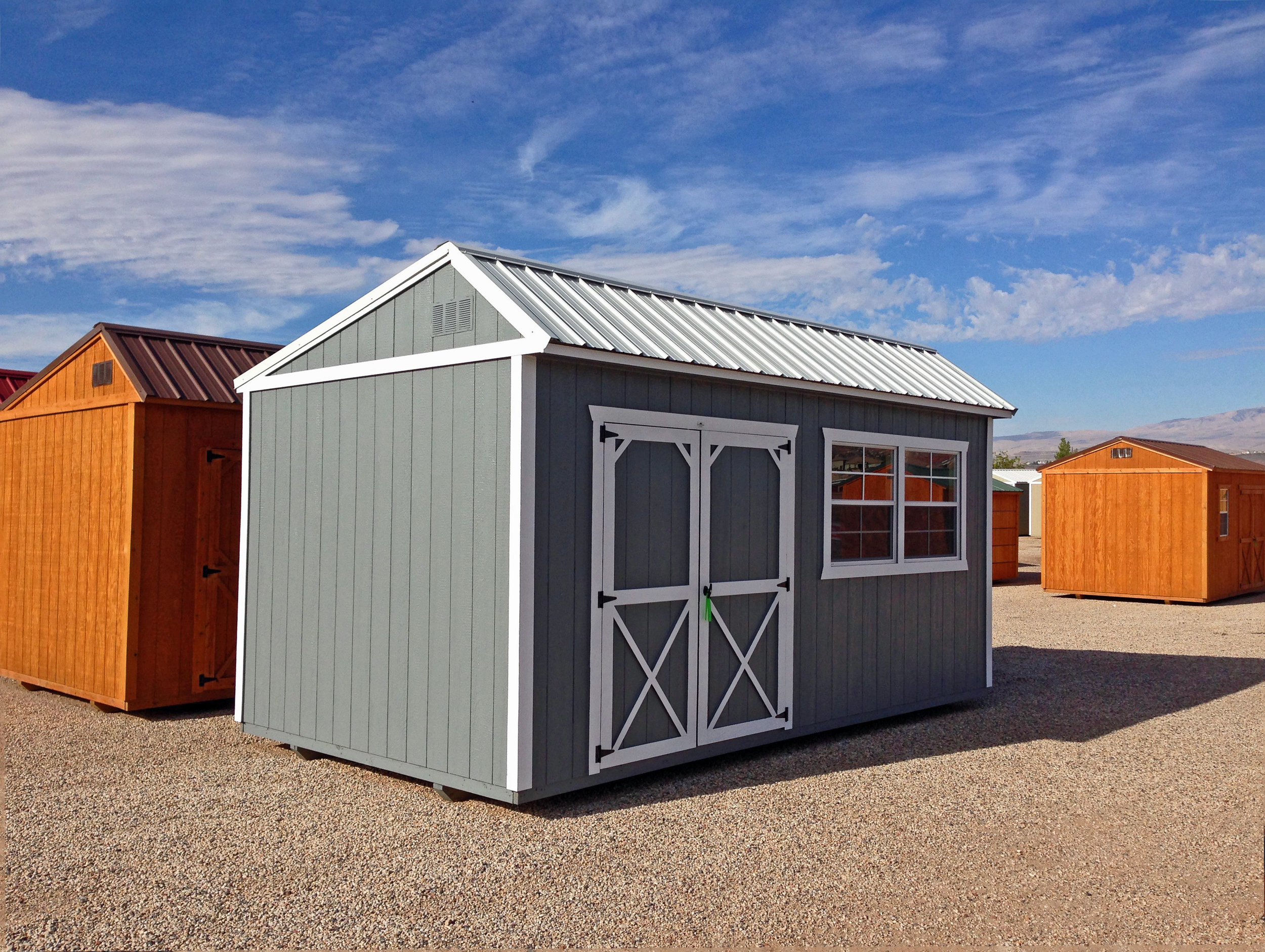 Grey Cottage Shed - Vegas Sheds