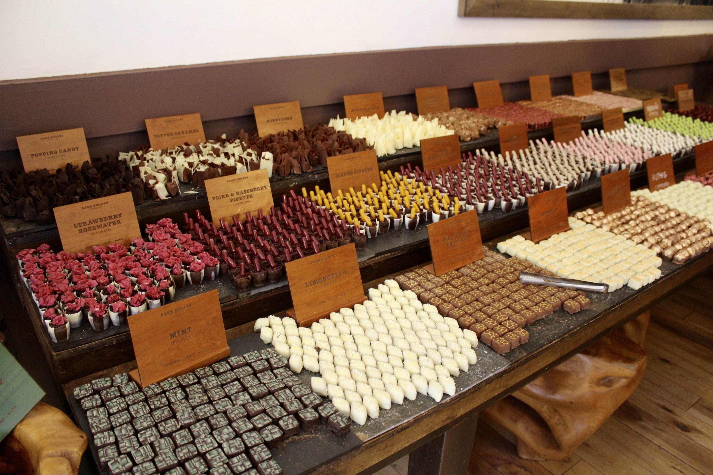One of my favorite chocolate shops in London.