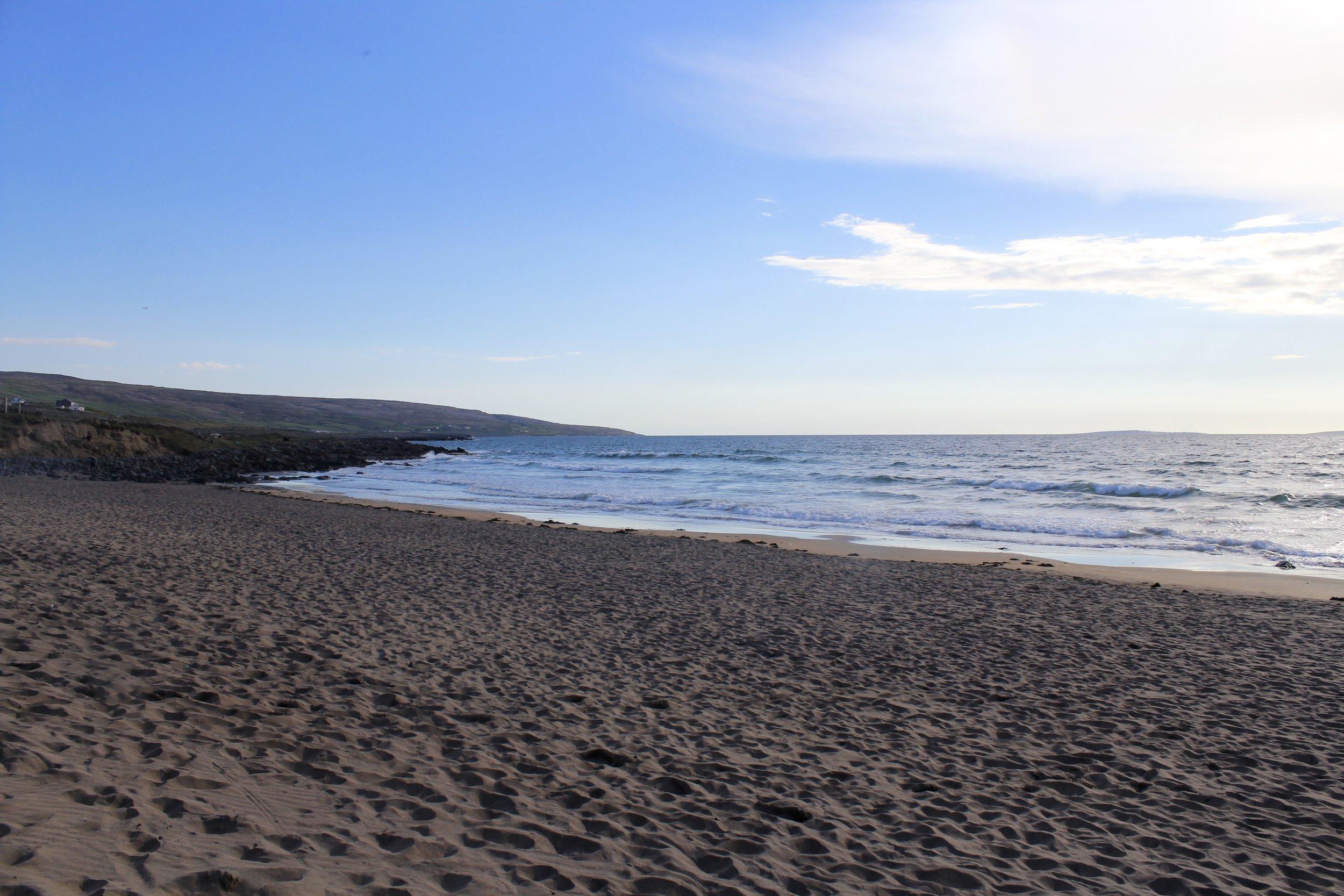 Fanore beach, April 2018