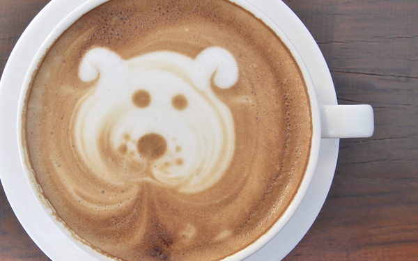 Rule 6.Pets are notallowed in the coffee bar. - Sorry! House rules.