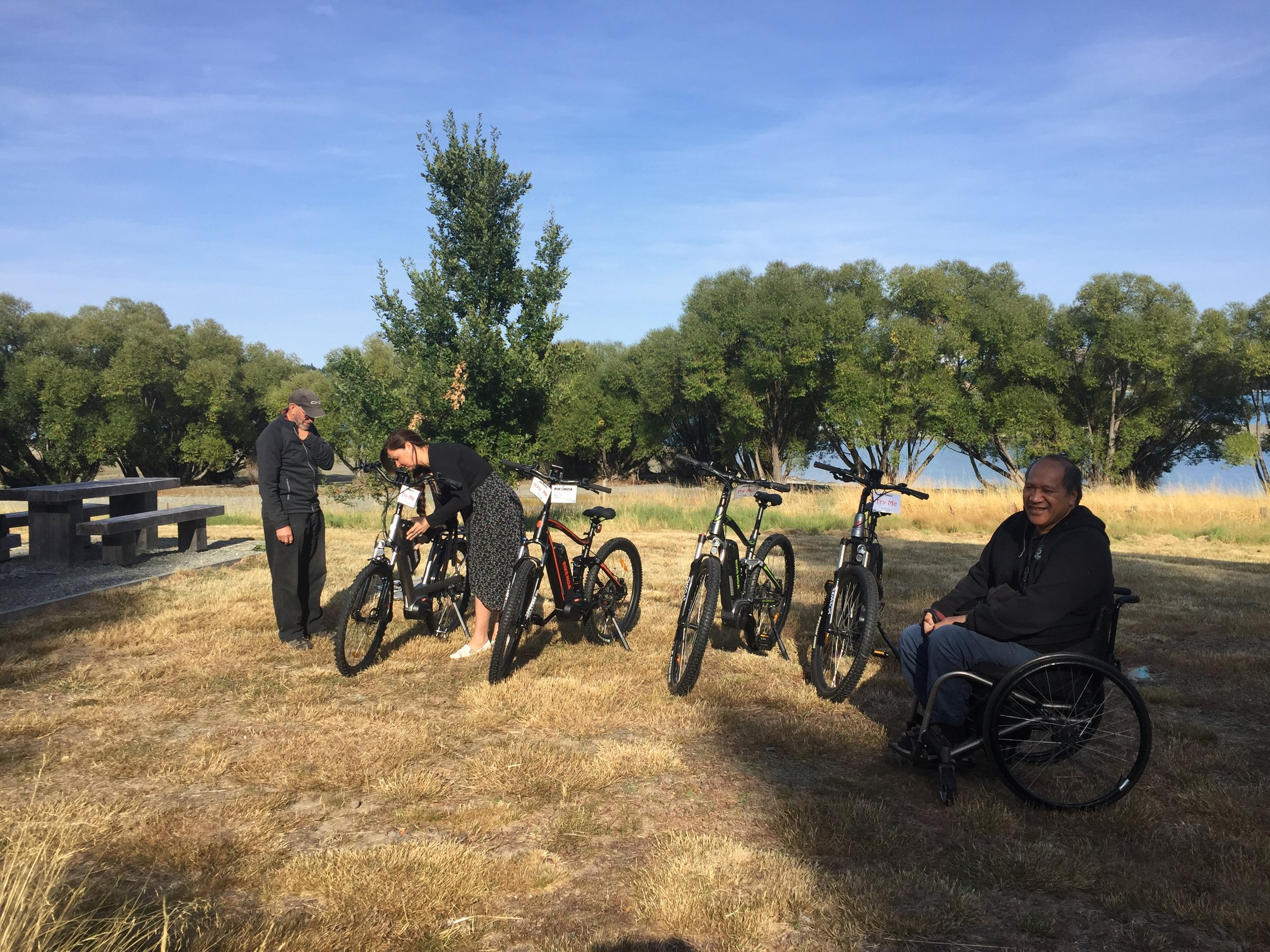 E-bike Demo Day, Lake Tekapo