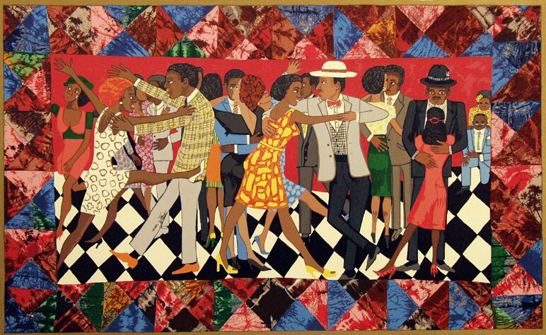 Faith Ringgold    Faith Ringgold, painter, writer, speaker, mixed media sculptor and performance artist lives and works in Englewood, New Jersey. Ms Ringgold is professor emeritus at the University of California, San Diego where she taught art from 1987 until 2002. Professor Ringgold is the recipient of more than 75 awards including 22 Honorary Doctor of Fine Arts Degrees.