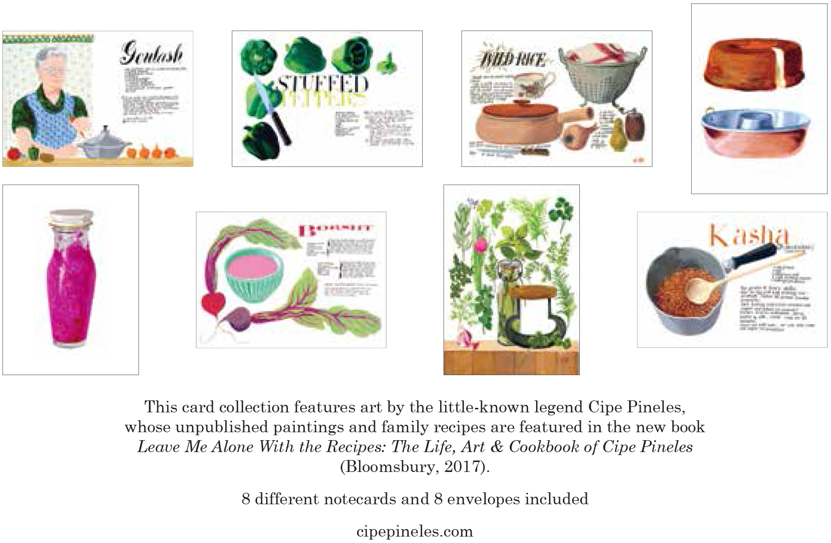 Art and Cookbook of Cipe Pineles The Life Leave Me Alone with the Recipes
