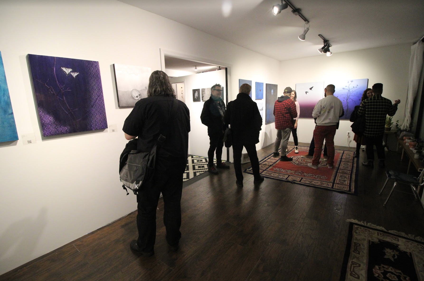 Ecosystems opening reception February 8th, 2019