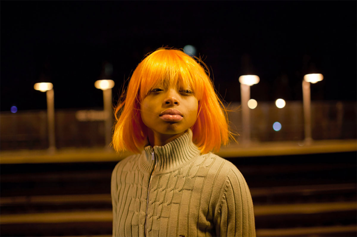Chantal Heijnen Girl with an Orange Wig Photography 24x16""