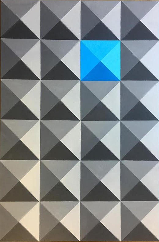 "Dominic Joyce Untitled 1 Acrylic on canvas, 30 x 20"""