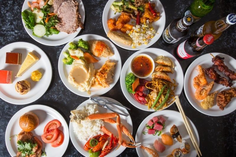 Popular Dishes at Our All You Can Eat Asian Buffet