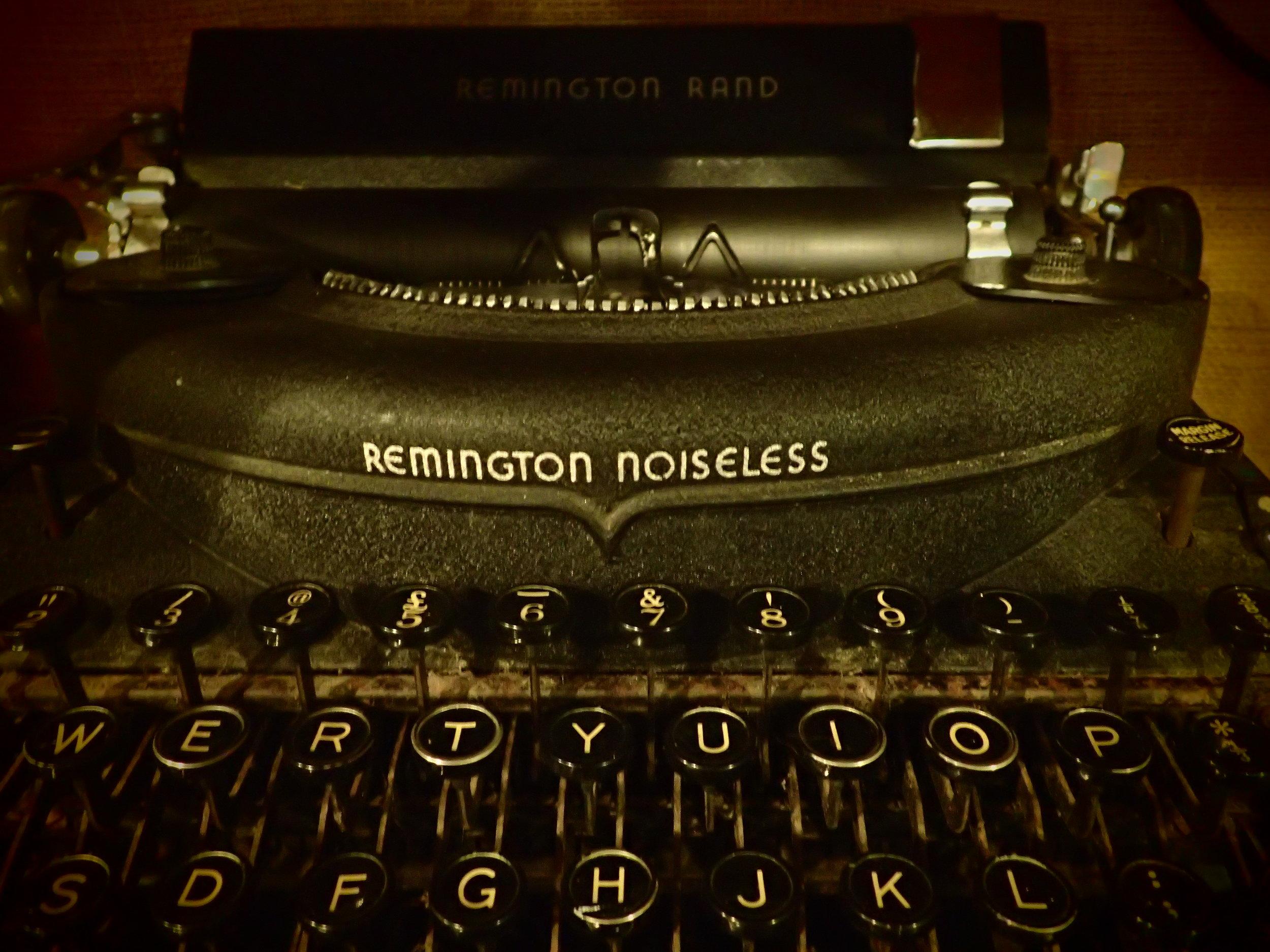 Remington typewriter C.1930's