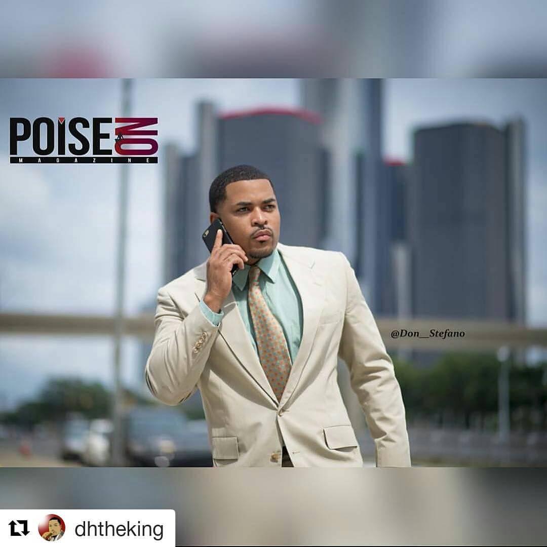 Actor:  DH Harvey   Suit : Thrift on the Ave.   Fashion Stylist:  Dusk 'Til Daun, Llc.   Photographer : Don Stefano   Poise On Magazine