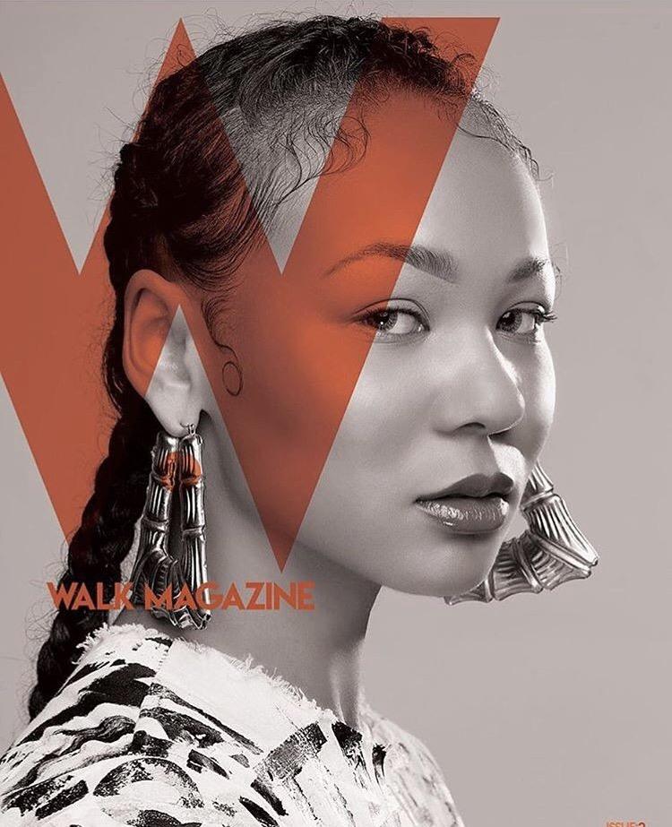Model:  Krista   H.M.U.A.:  Roche Beauty   Designer : Mattie Ideel   Fashion Stylist:  Dusk 'Til Daun, Llc.   Photographer:  Davide Anderson   Walk Magazine 2nd