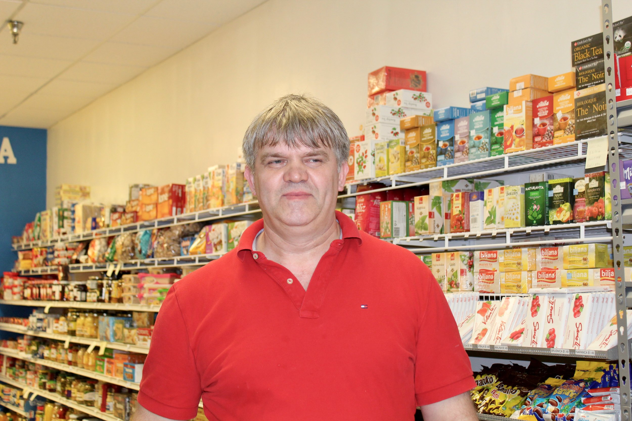 Sabit Selimovic and his family own the Bosna Market and recently opened Bosna Restaurant.