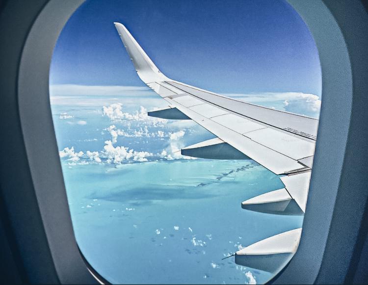 Airplane Window - Curacao.jpg