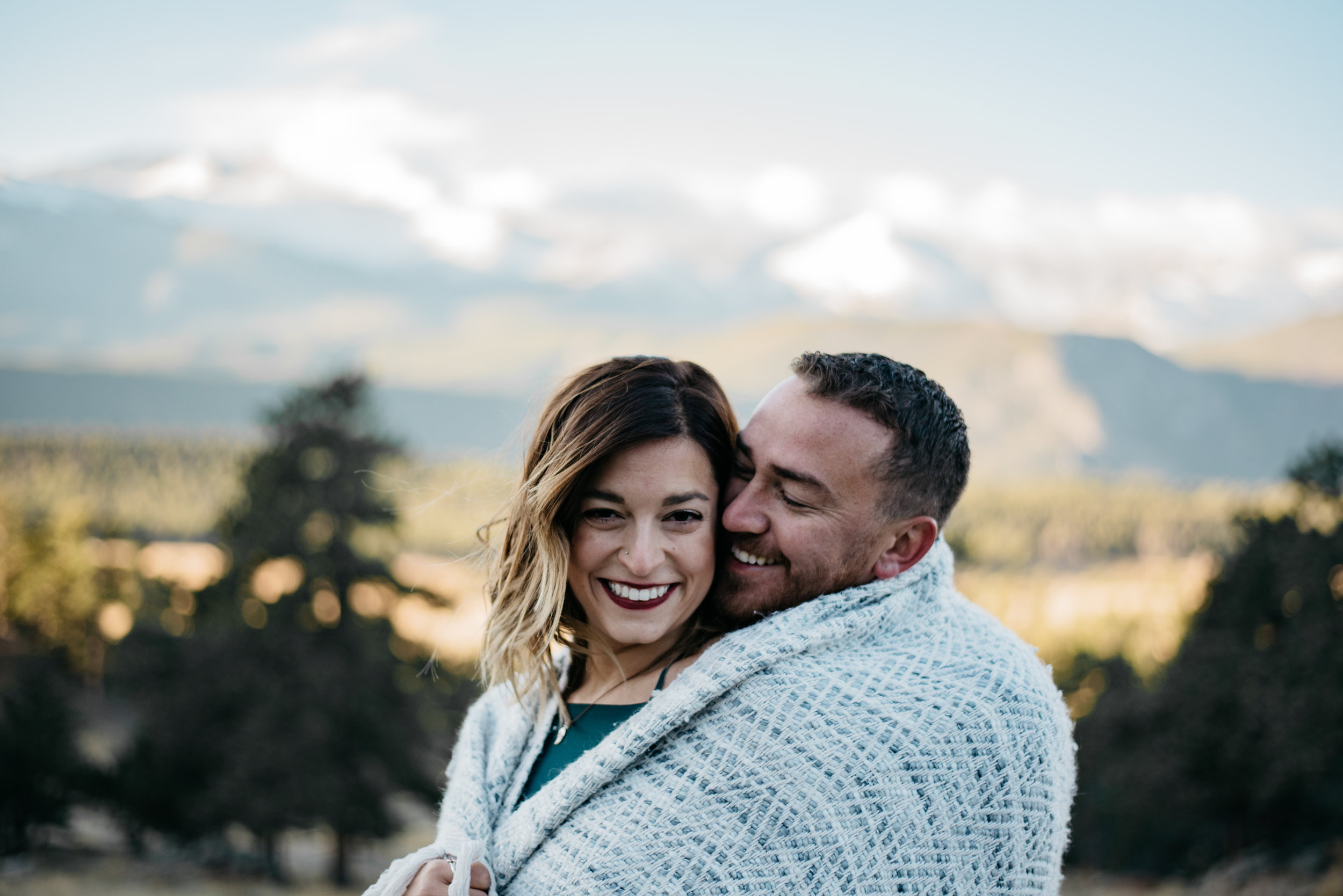 Boho Denver wedding photographer. Intimate wedding photographer.