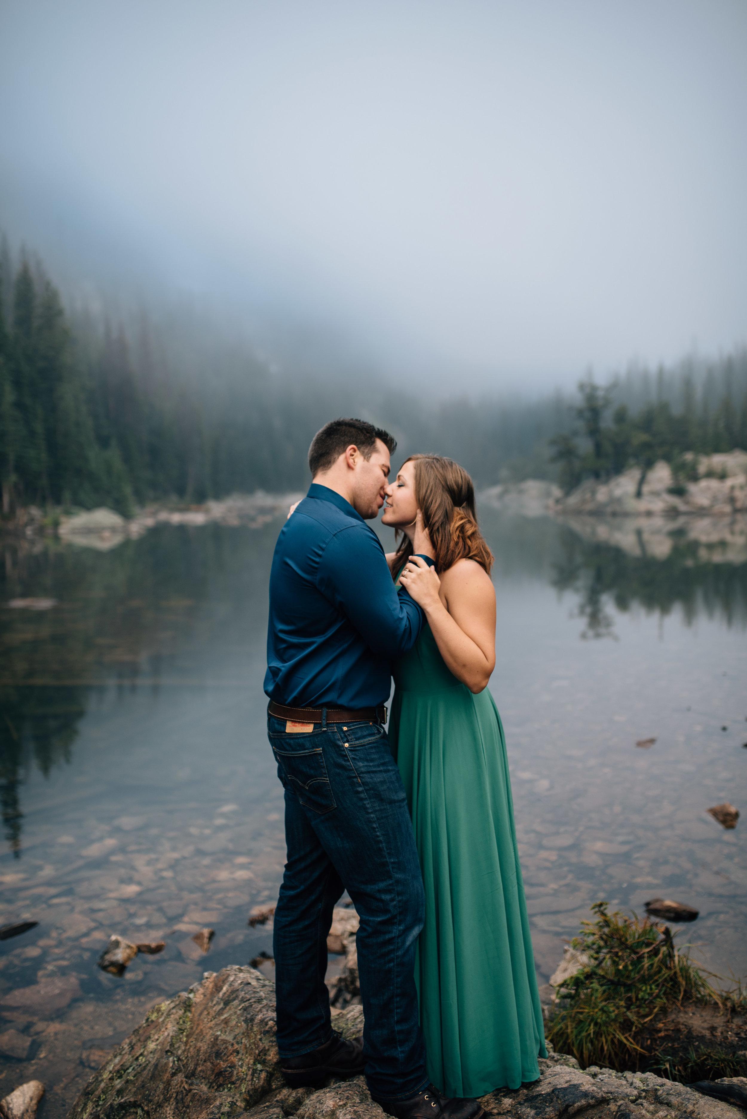Estes Park, Colorado engagement session.
