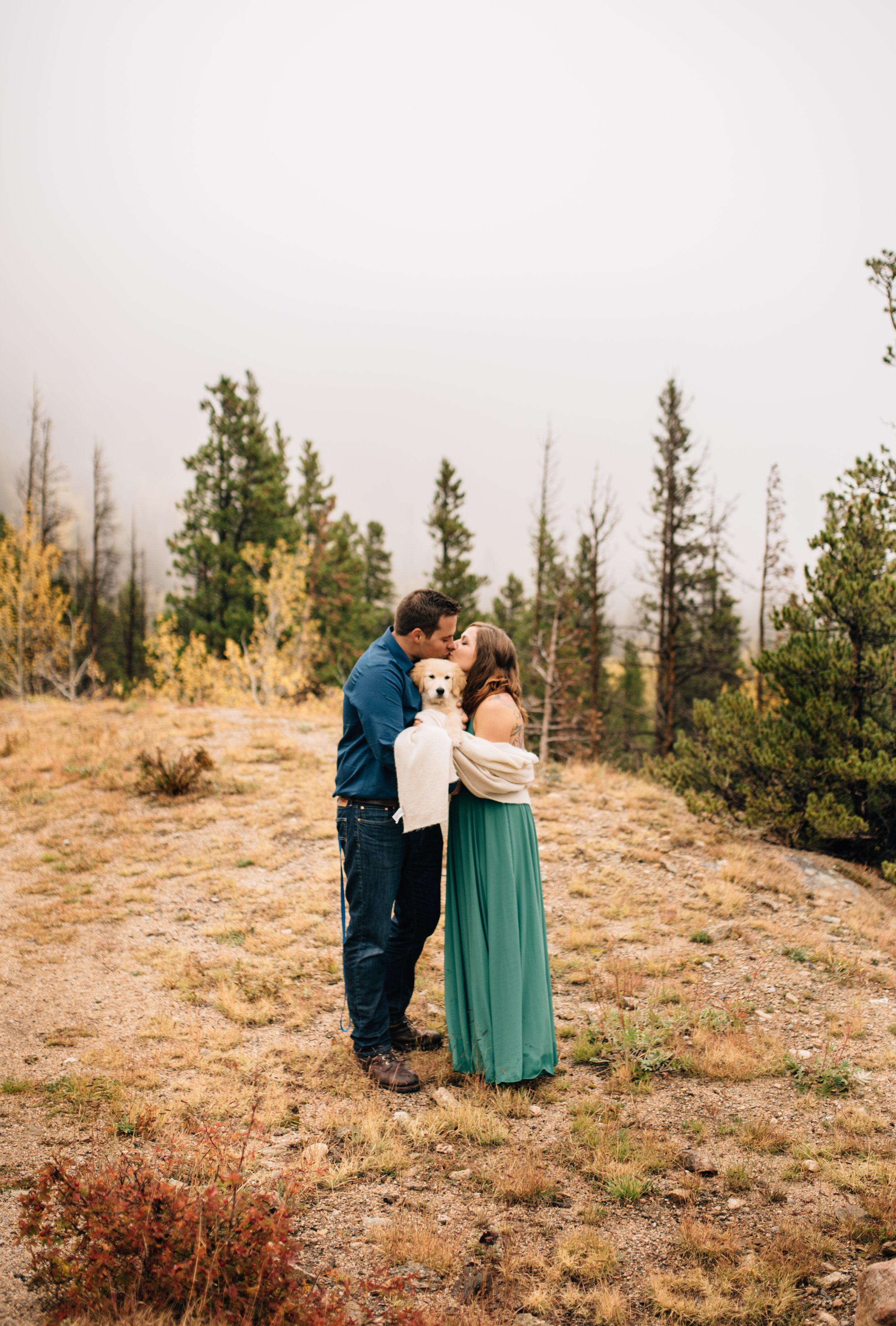 Intimate mountain elopement & wedding photographer.