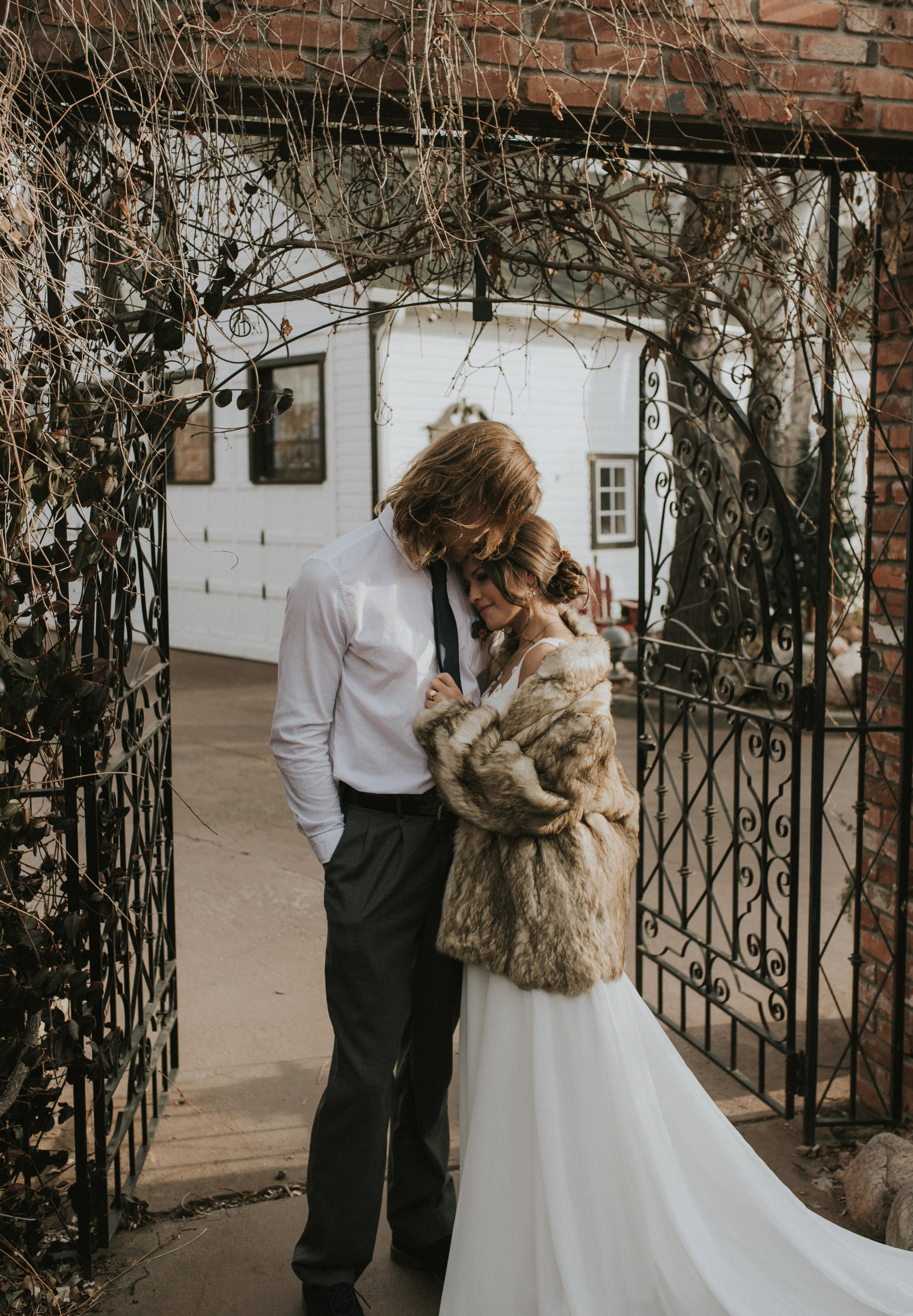 Intimate elopement in the Dove House at the Lionsgate Event Center in Lafayette, Colorado
