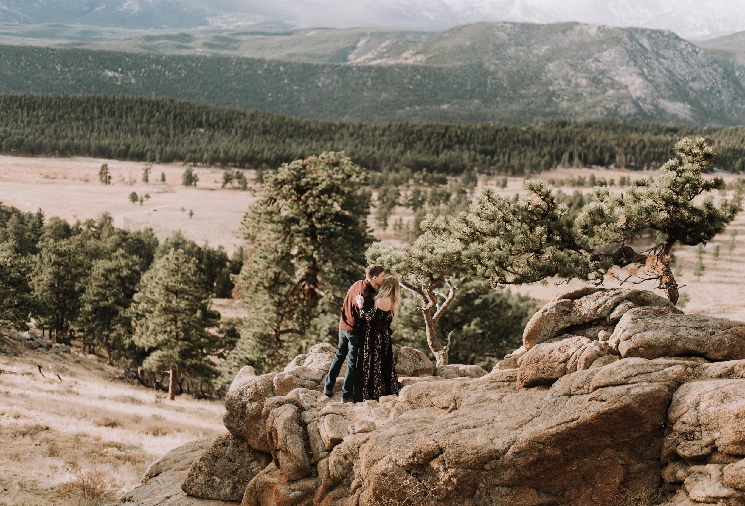 Denver, Colorado boho intimate wedding photographer