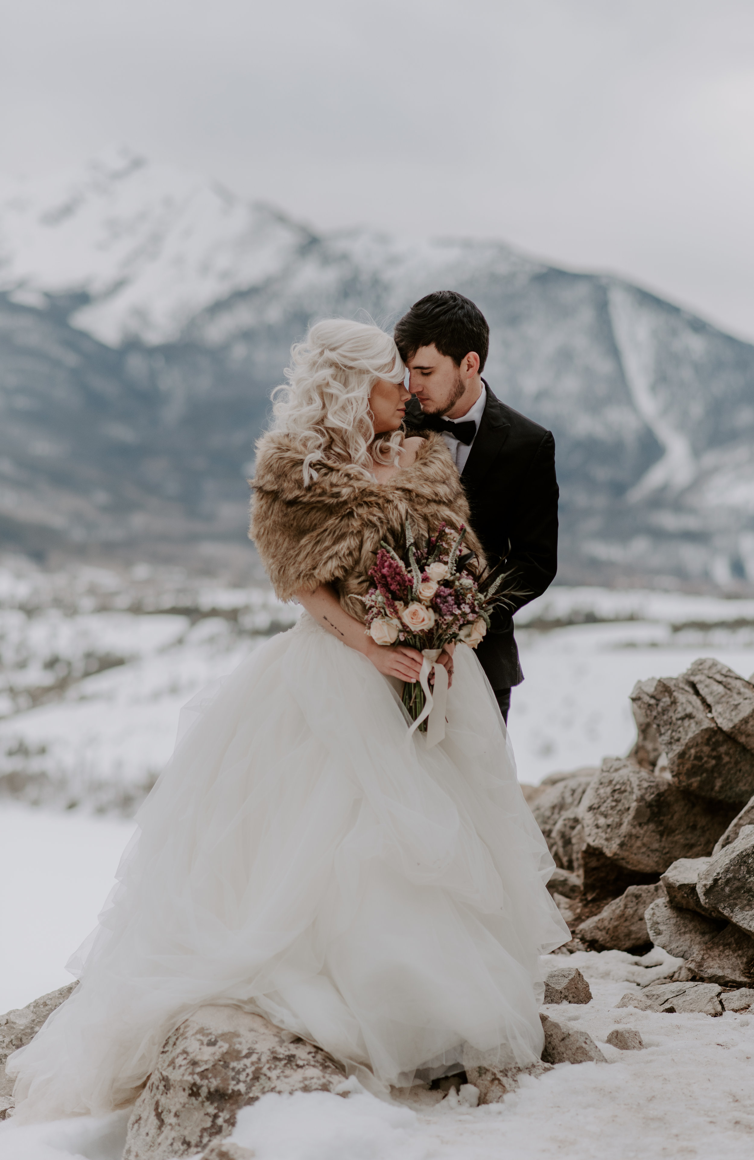 Magical Sapphire Point elopement in the Colorado mountains.