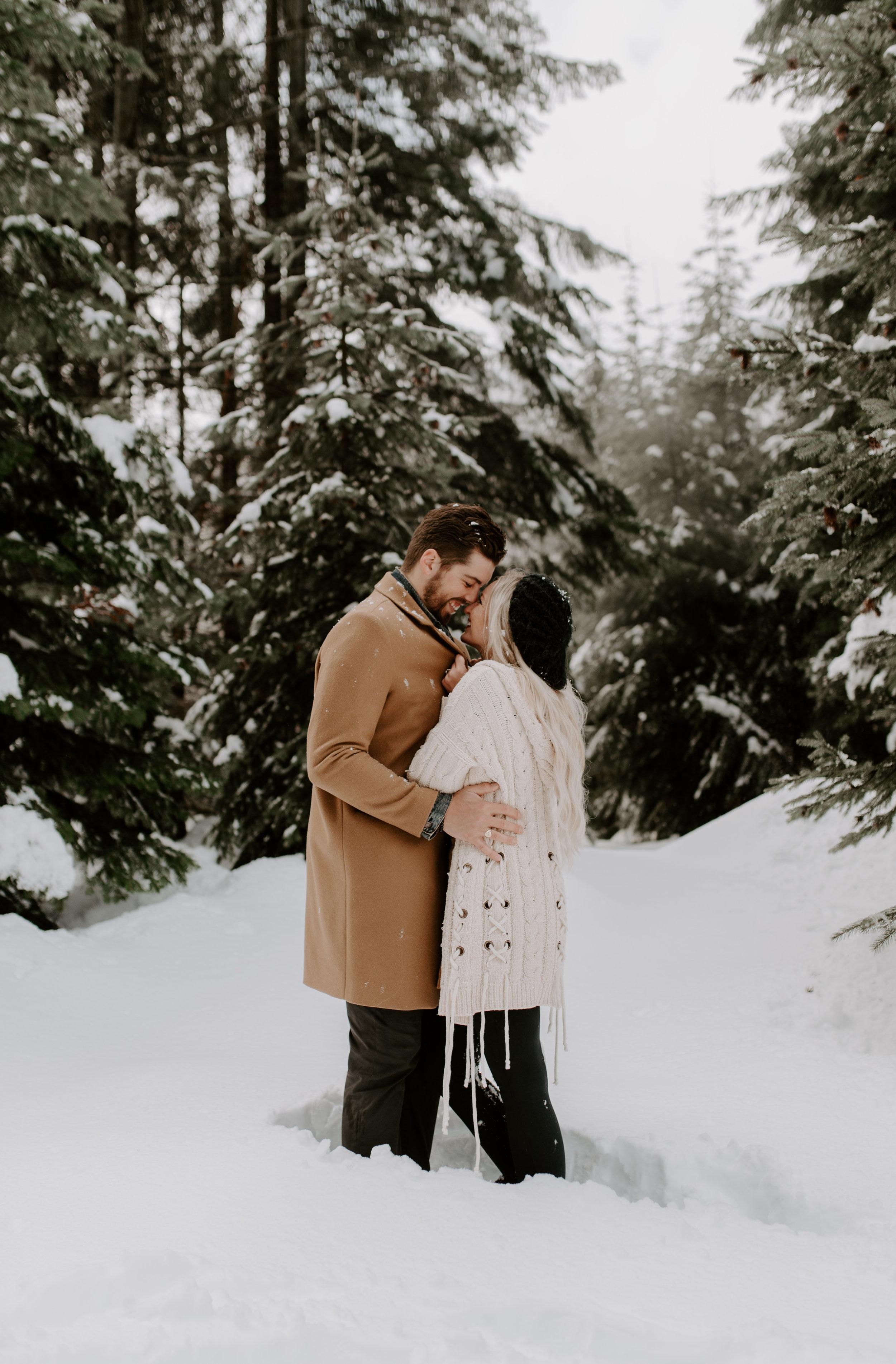 North Cascades National Park near Leavenworth, WA elopement photography