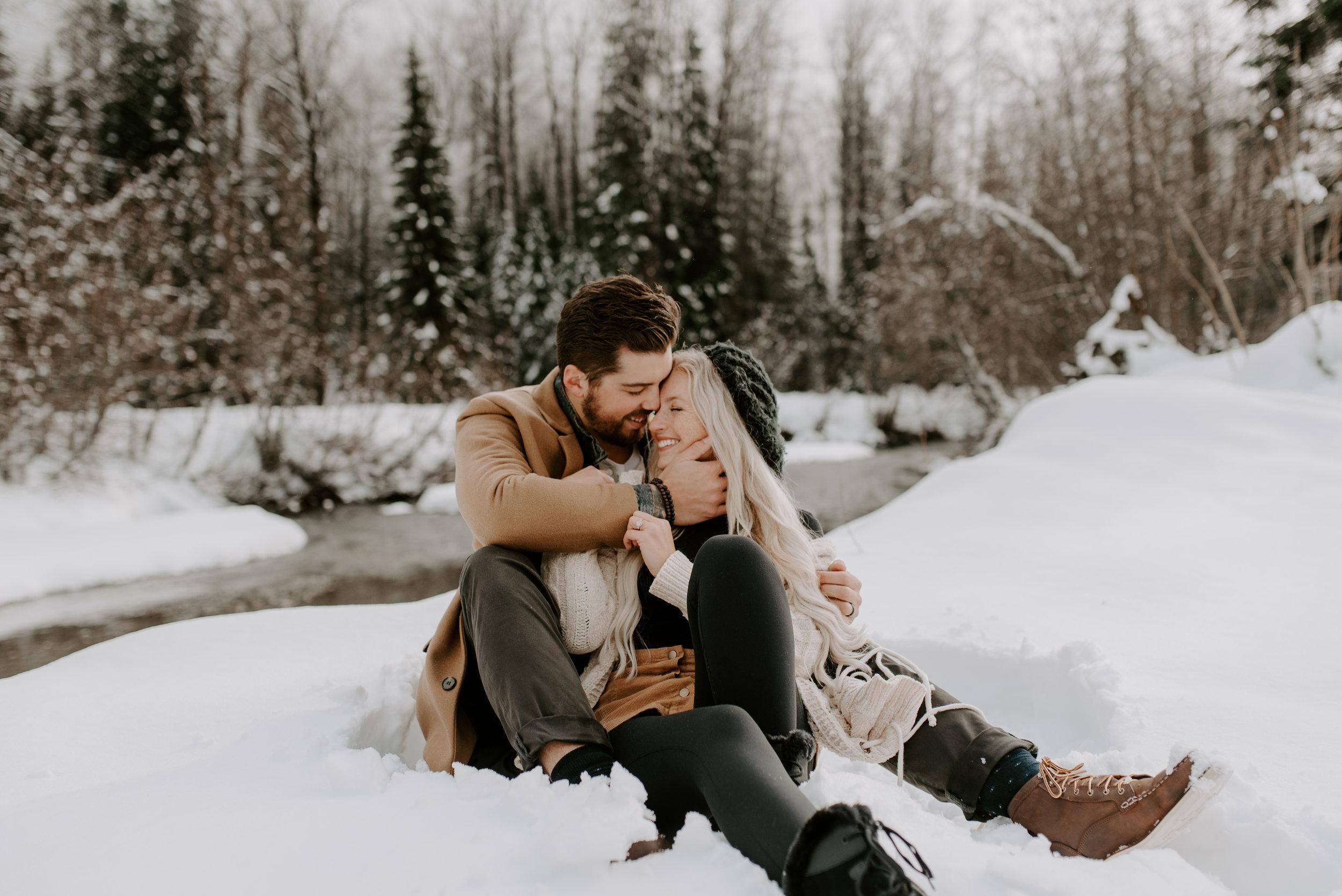 Leavenworth, Washington elopement and engagement photography.