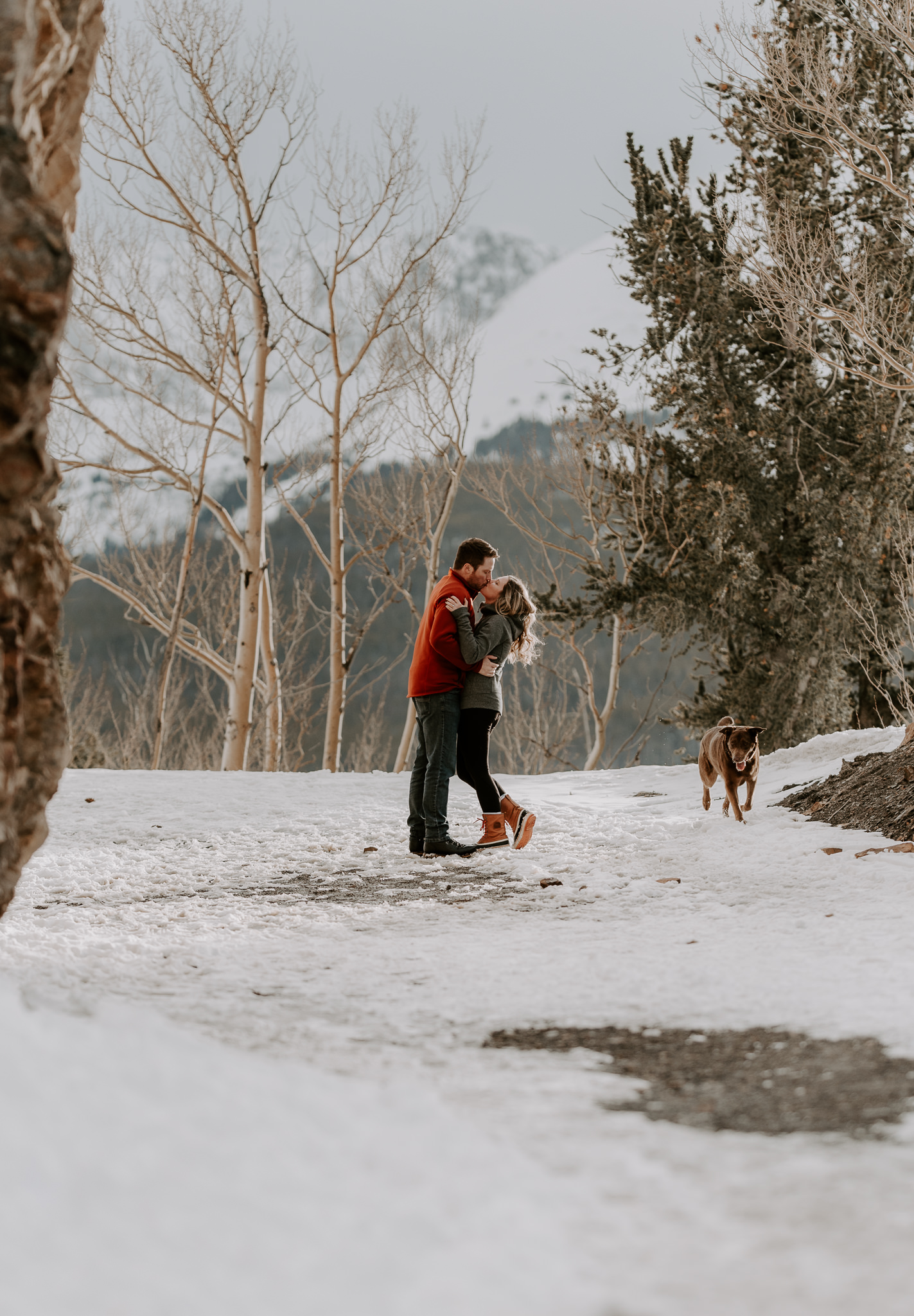 Destination mountain elopement in Colorado.