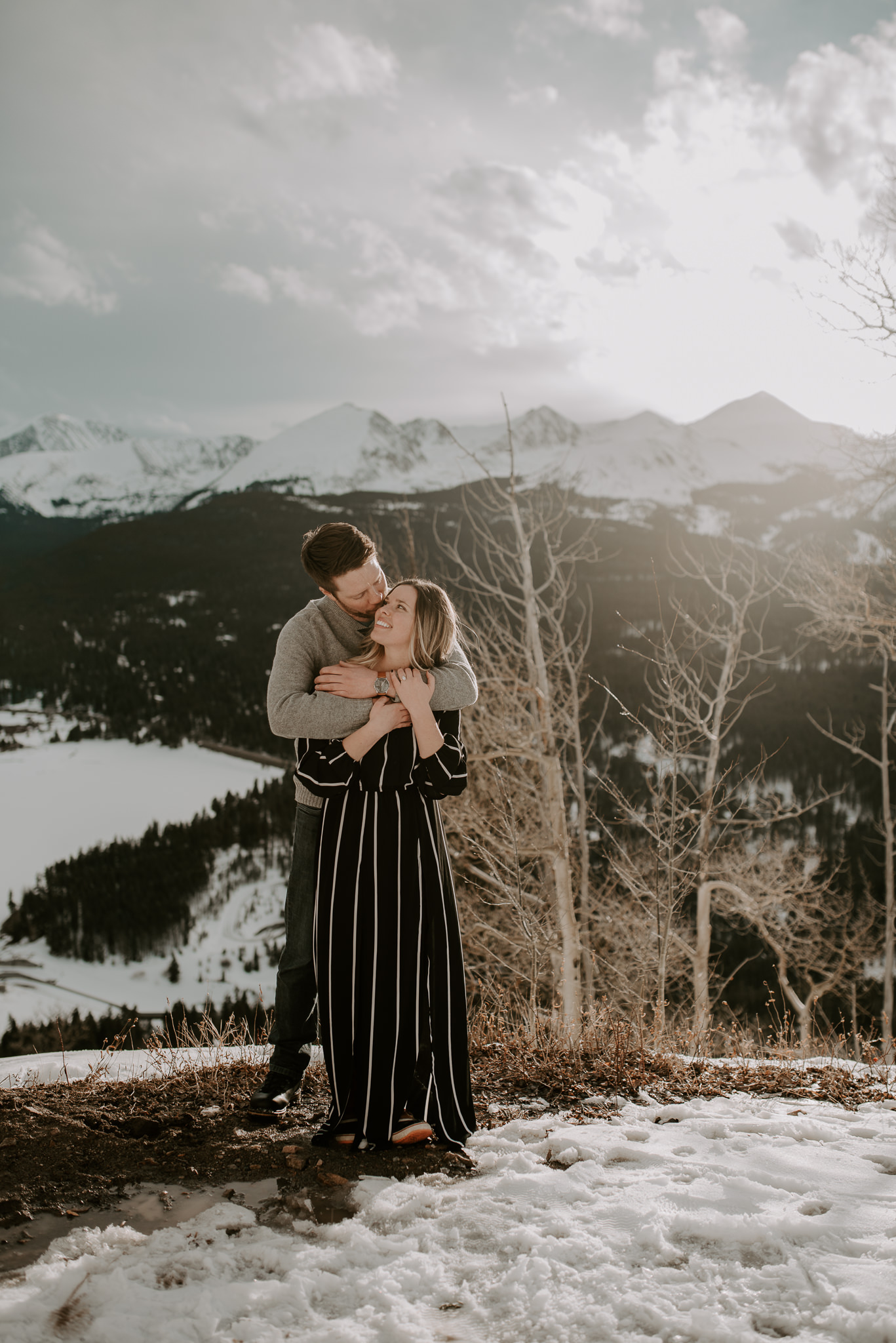 Destination mountain wedding in Colorado.