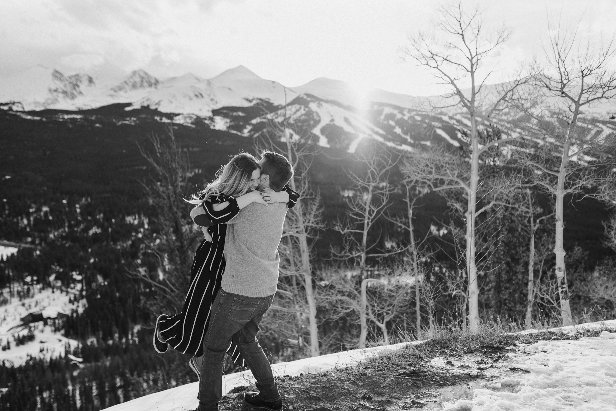 Boreas Pass elopement in Breckenridge, Colorado