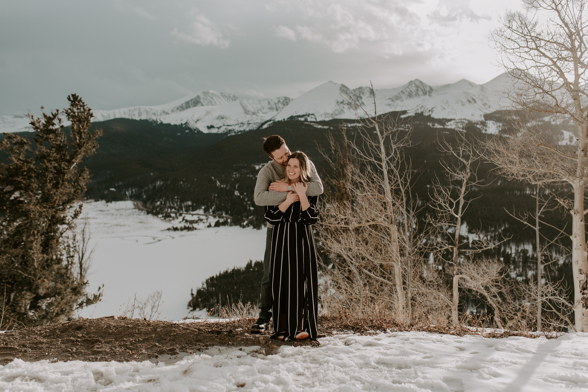 Colorado mountain adventure elopement photographer