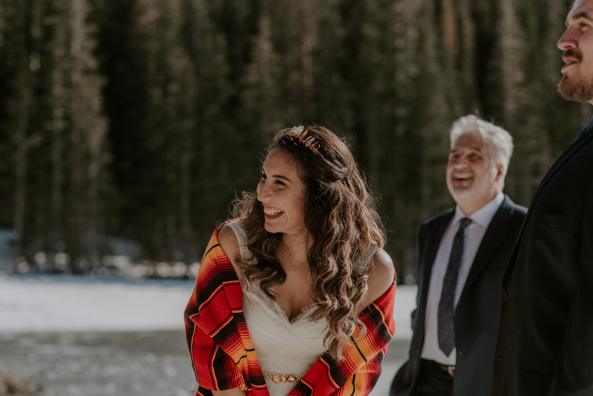 Colorado adventure elopement in RMNP. Estes Park elopement photographer.