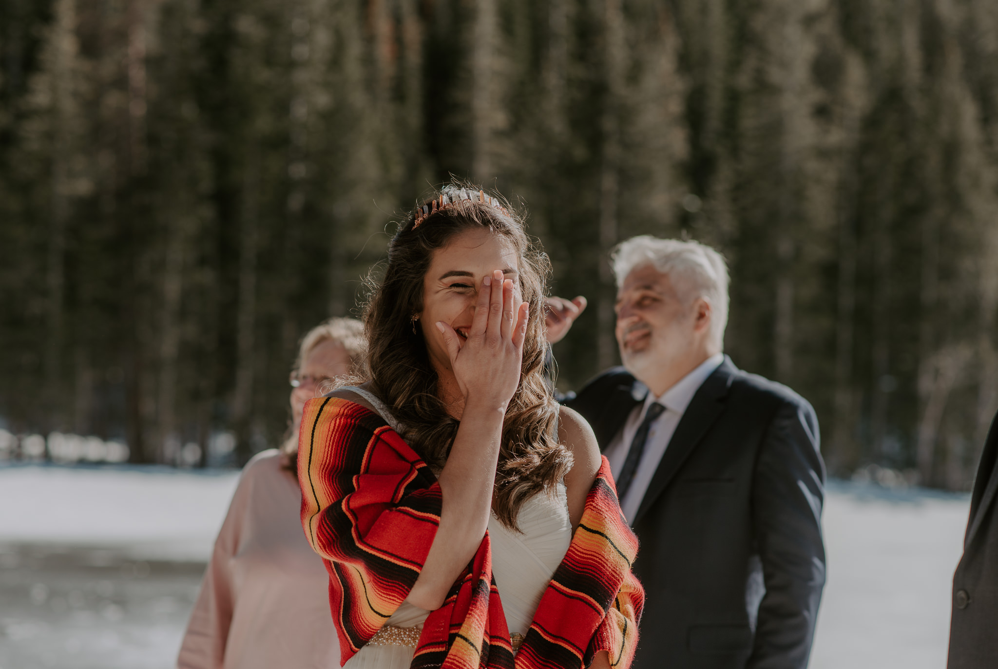 Bear Lake elopement in Rocky Mountain National Park. Colorado elopement and wedding photographer.