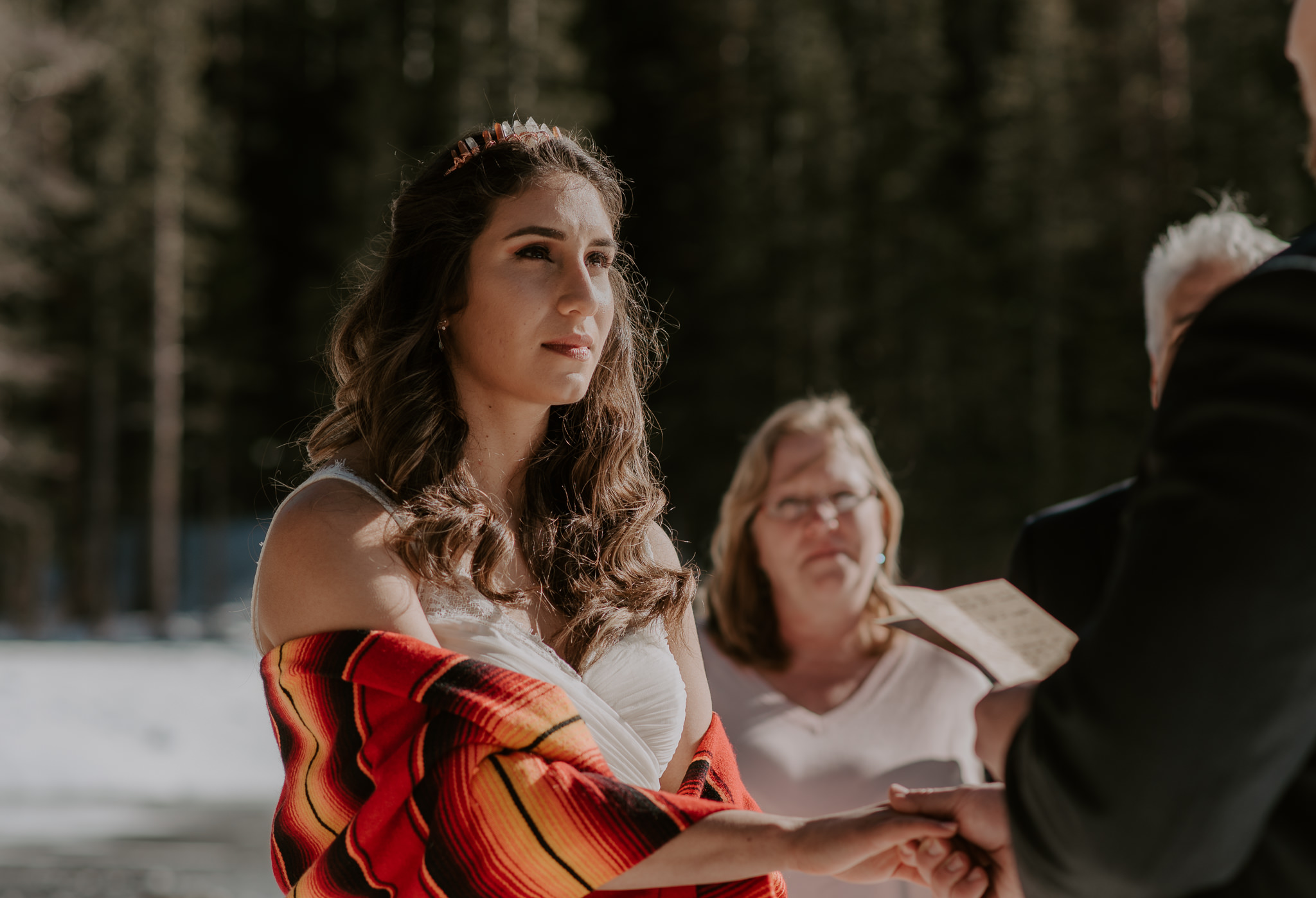 Colorado elopement and wedding photographer. Adventure elopement in Rocky Mountain National Park.
