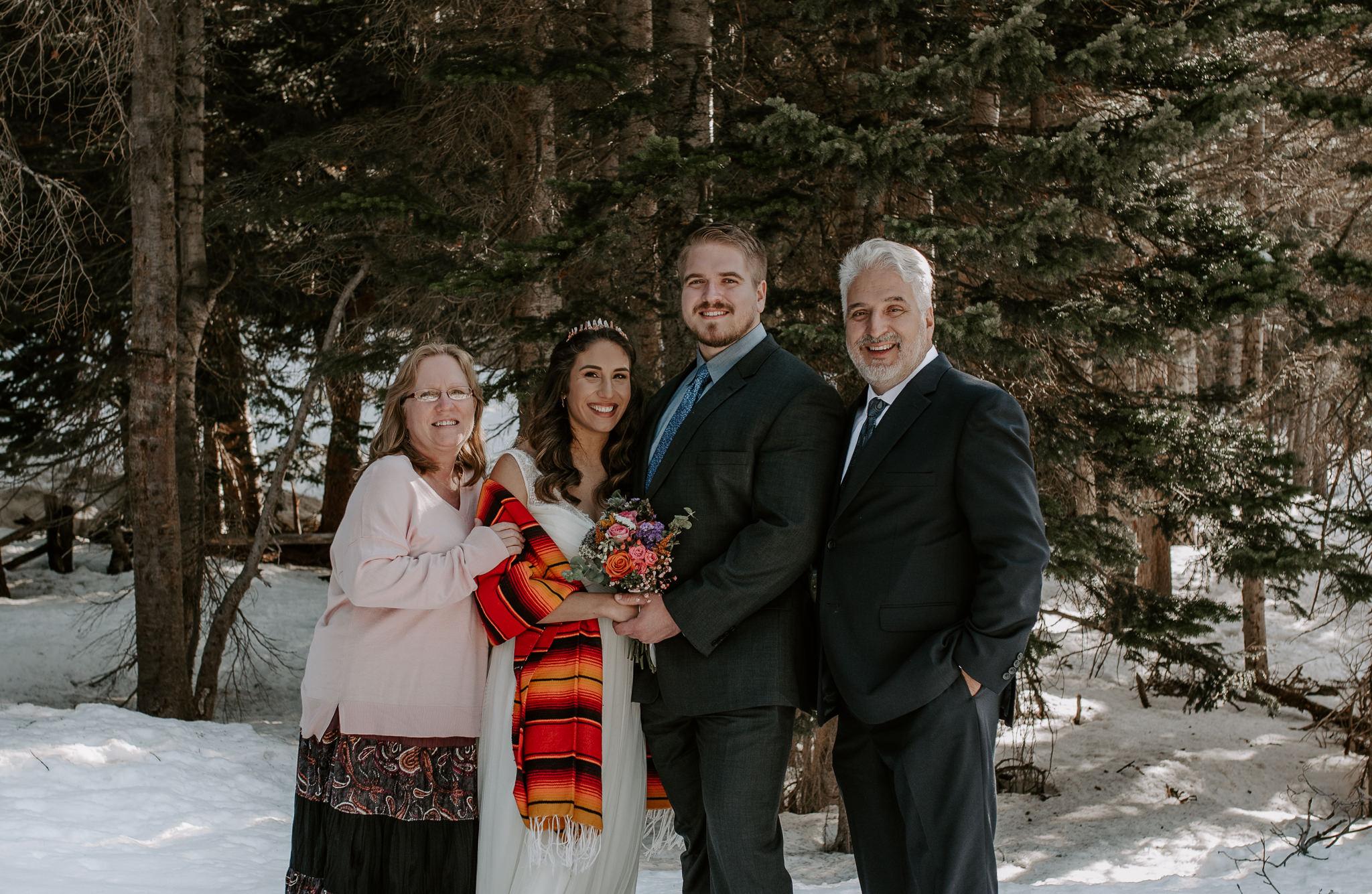 Colorado adventure elopement and wedding photographer