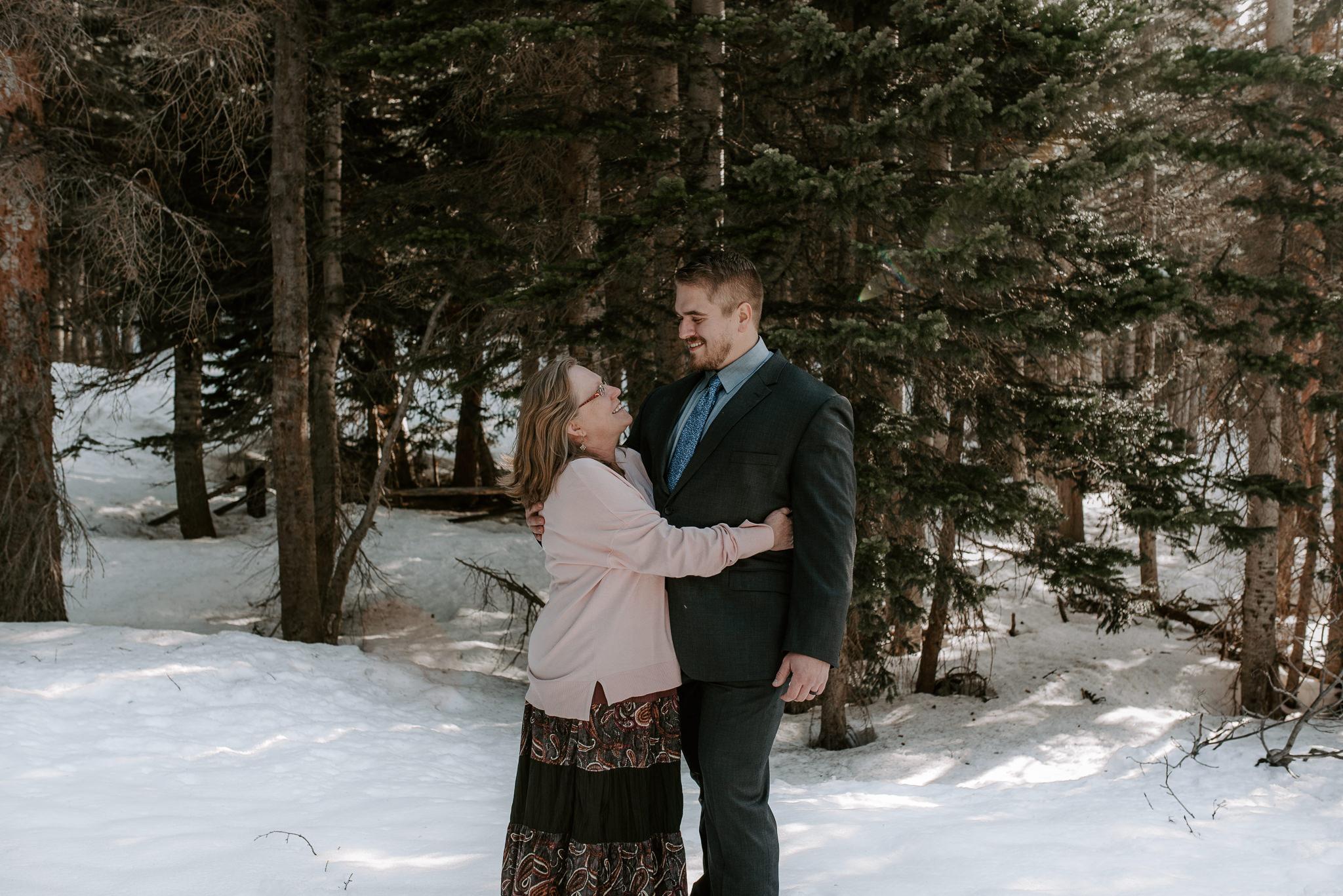Colorado based adventure wedding photographer
