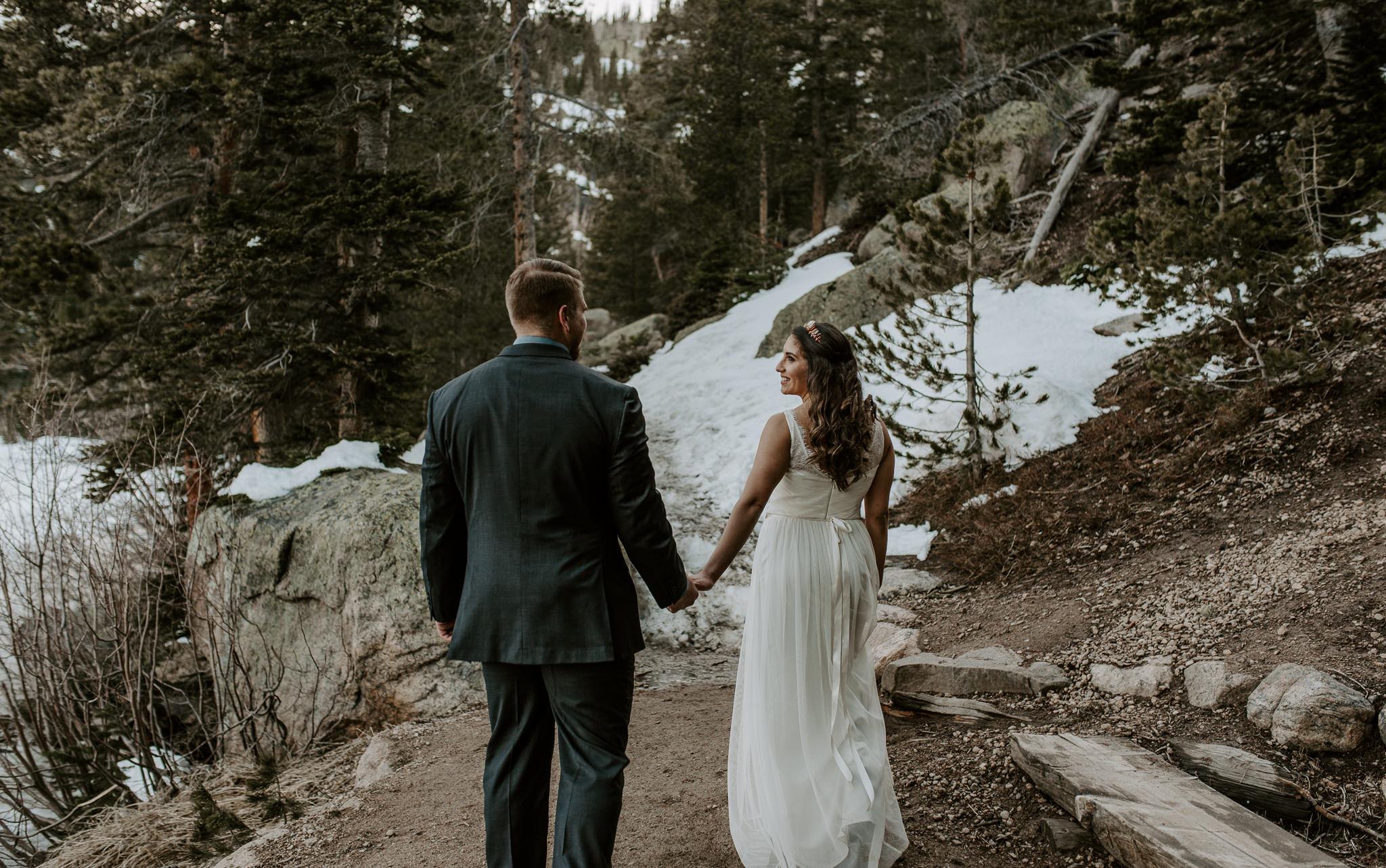 Mountain wedding photographer Colorado