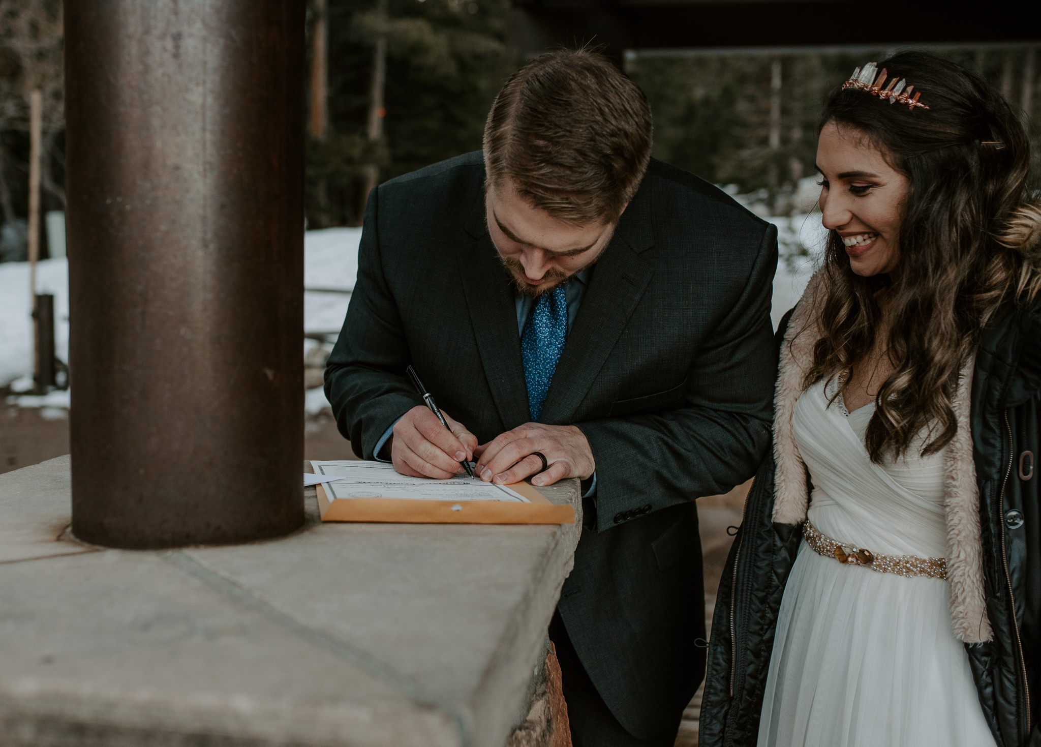 Colorado elopement and intimate wedding photographer