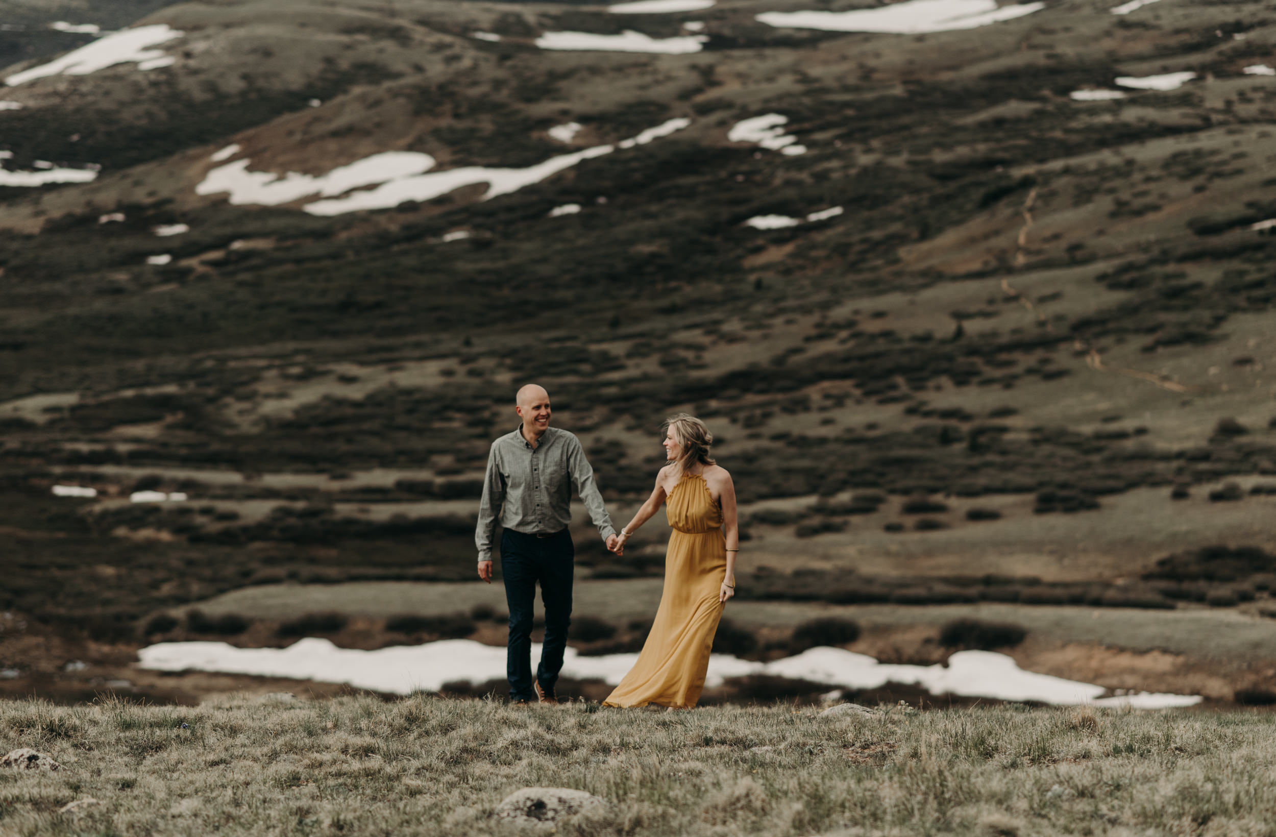 Guanella Pass elopement photos. Colorado elopement and wedding photographer.