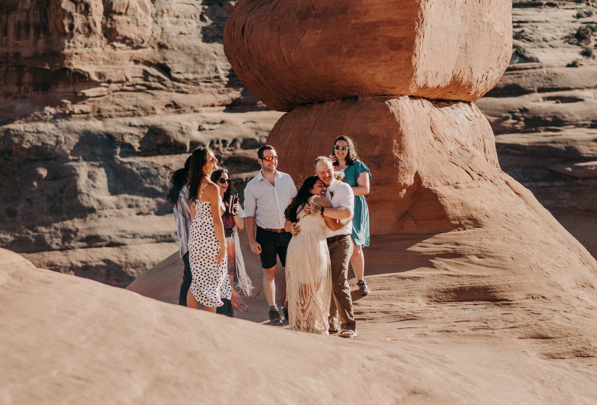 Moab intimate wedding and elopement photographer.