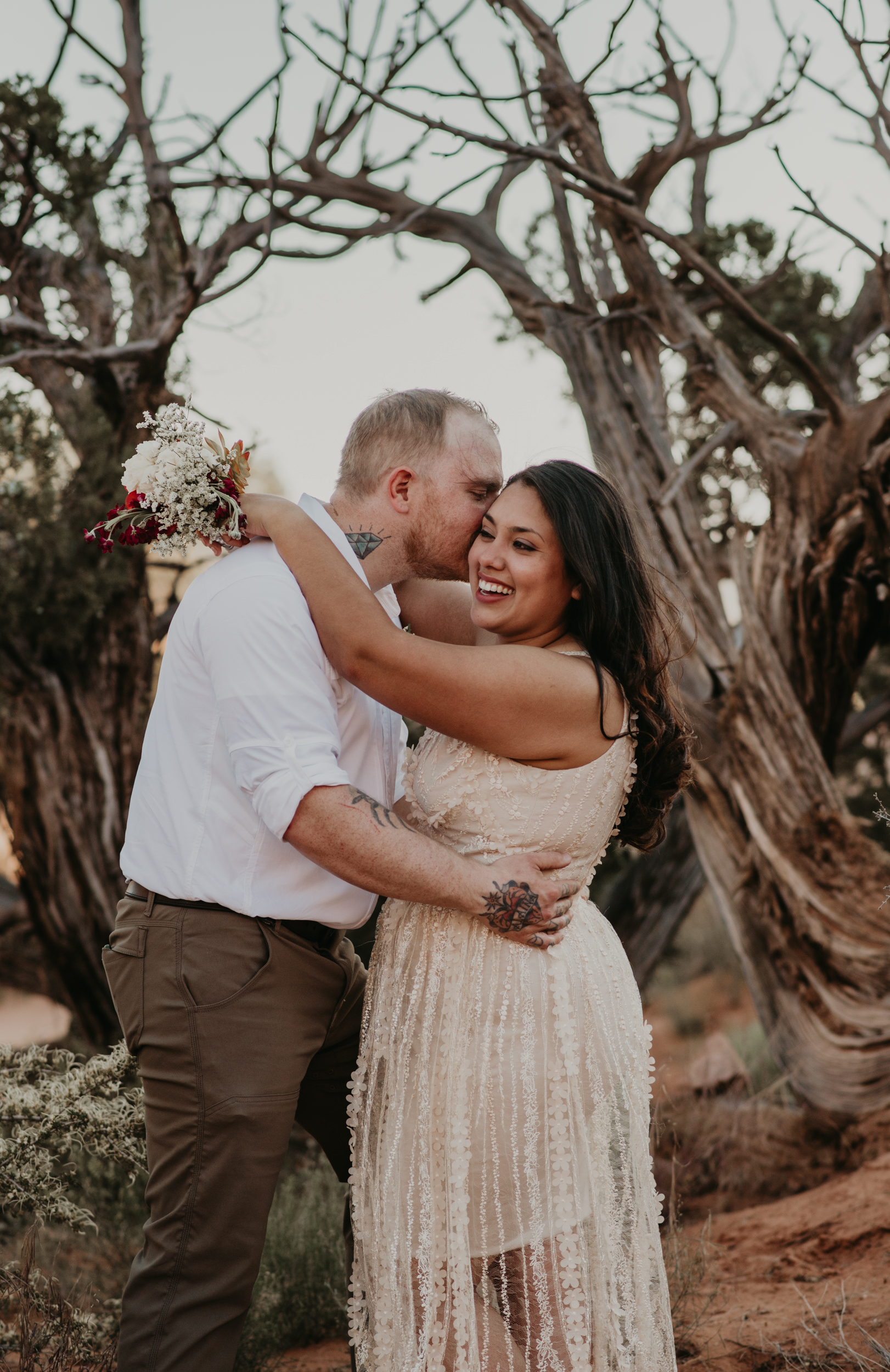 Wedding at the Delicate Arch in Arches National Park