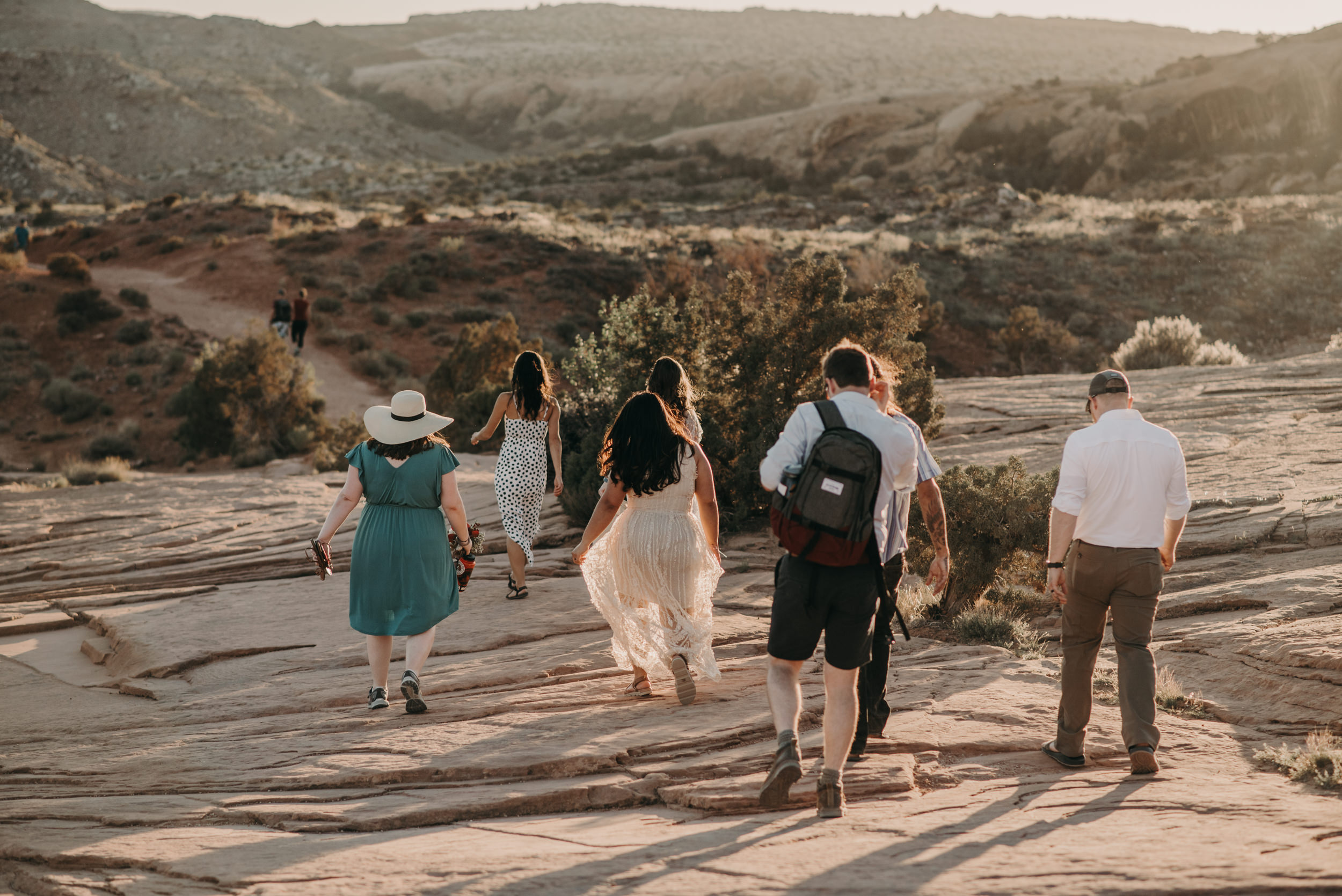 Elopement at the Delicate Arch in Arches National Park