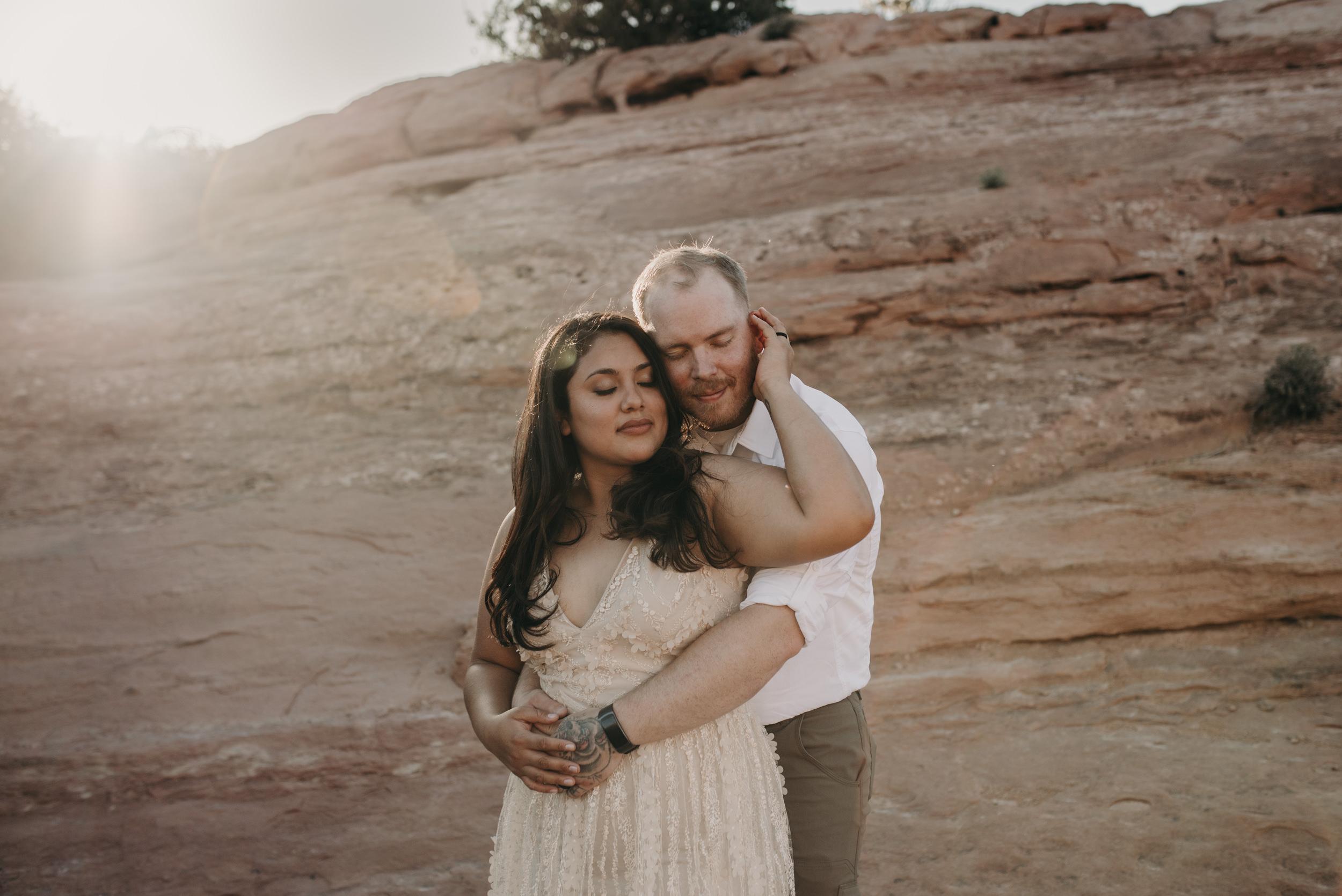 Arches National Park Moab elopement photographer