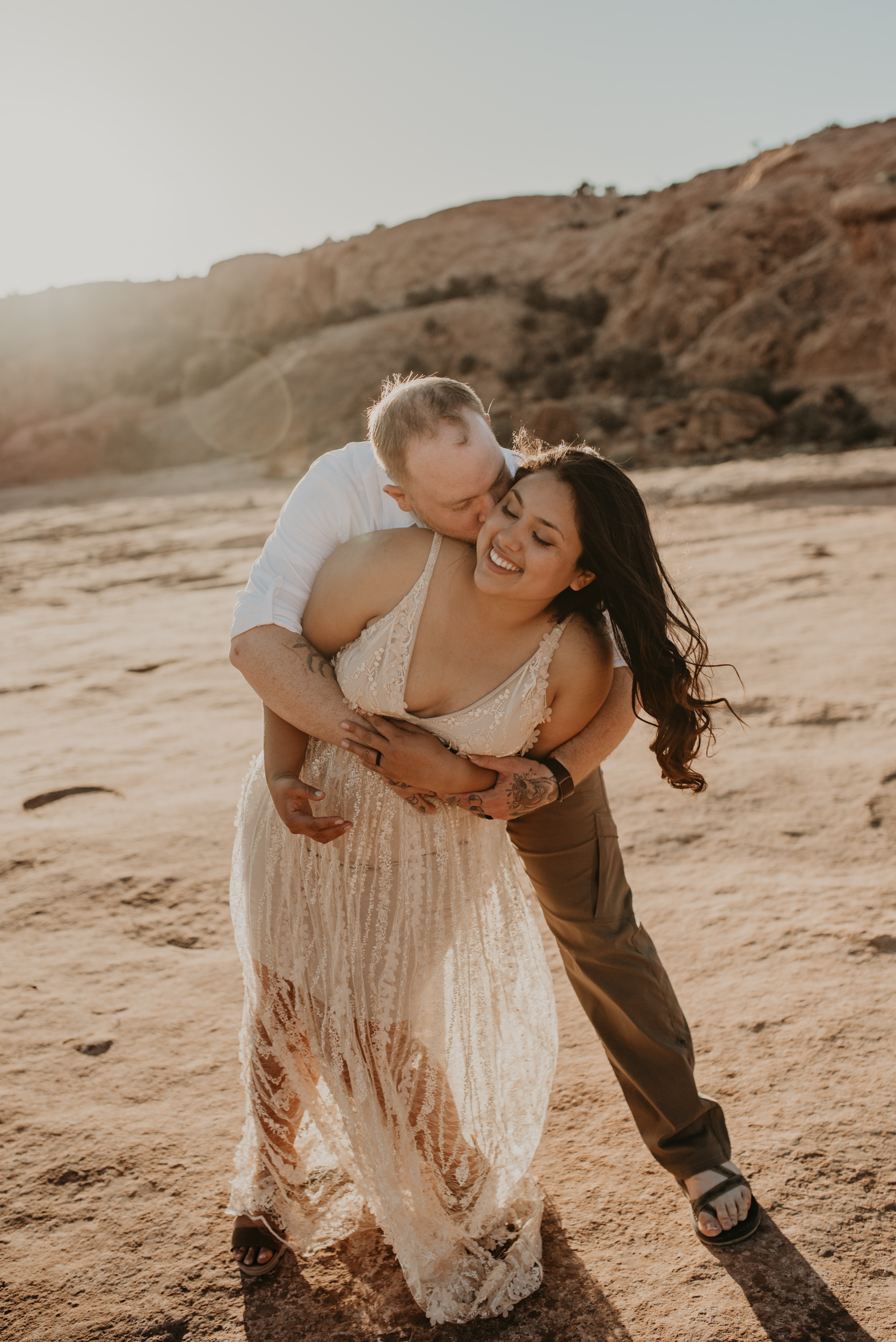 Elopement photographer in Moab