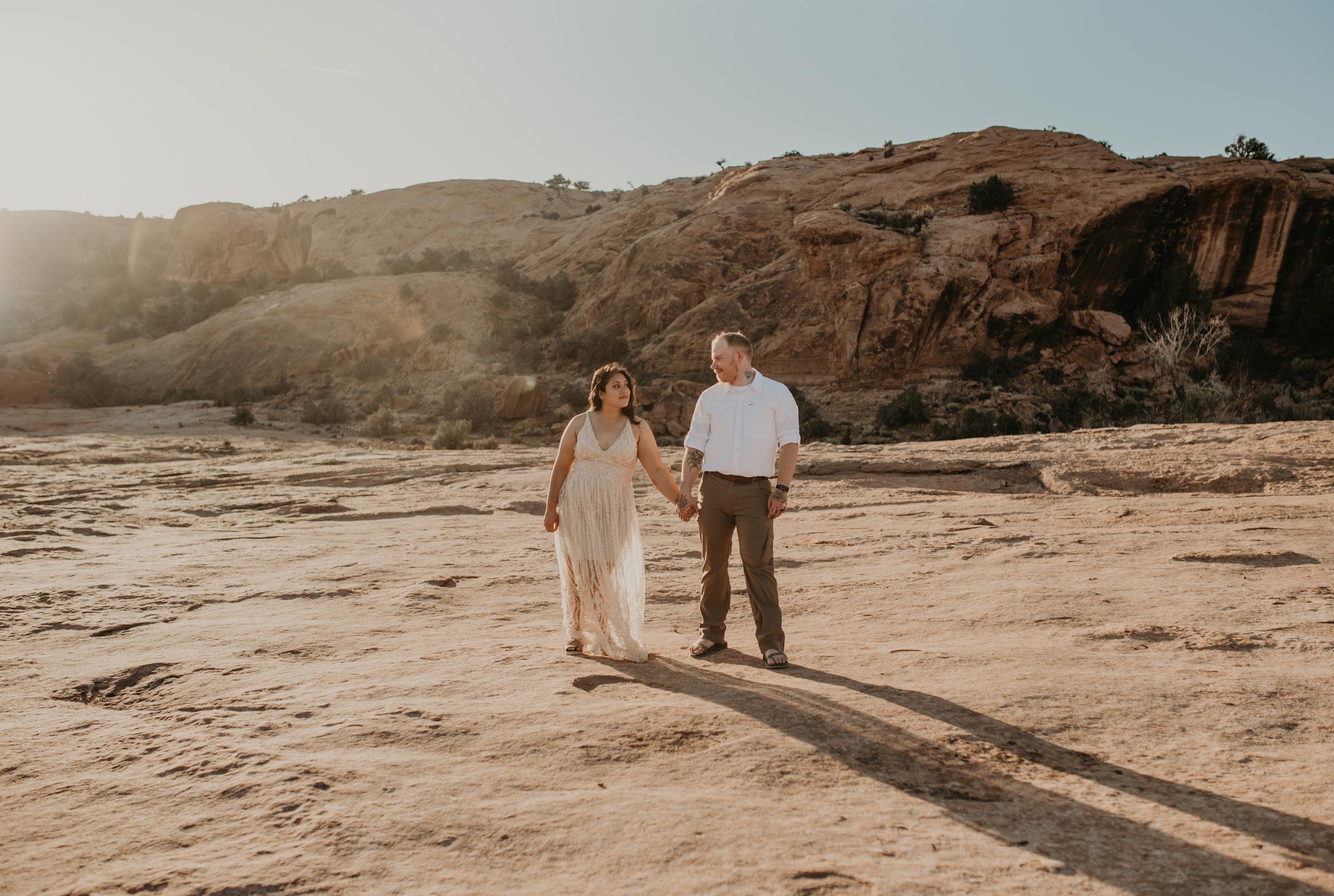 Moab elopement photography