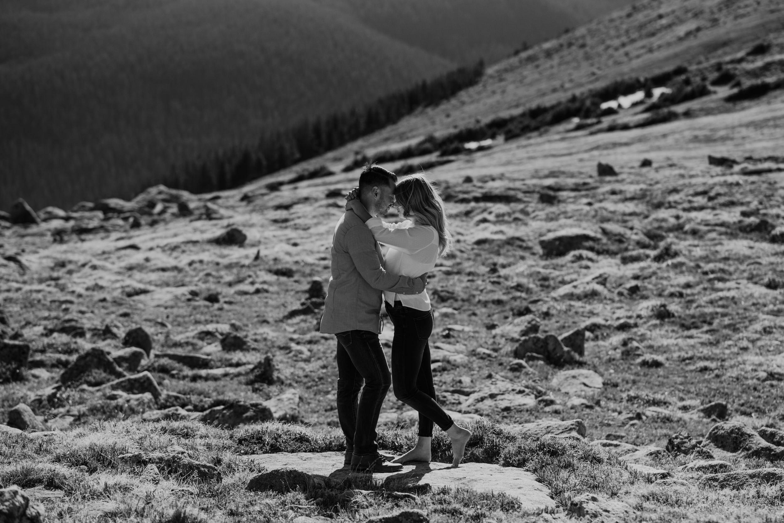 Destination elopement in Colorado. Denver wedding photographer.